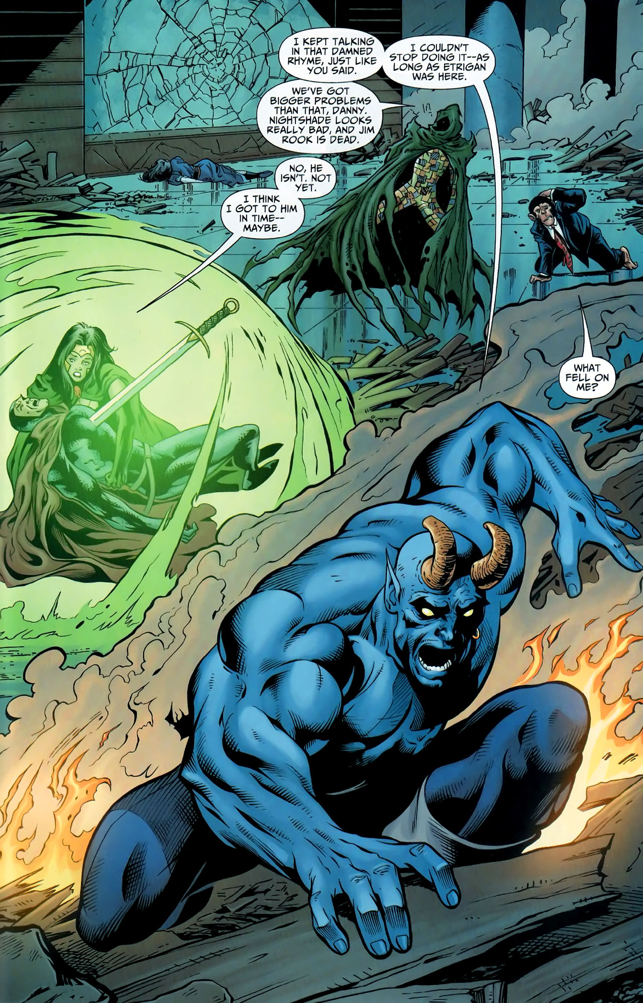 Read online Shadowpact comic -  Issue #9 - 21