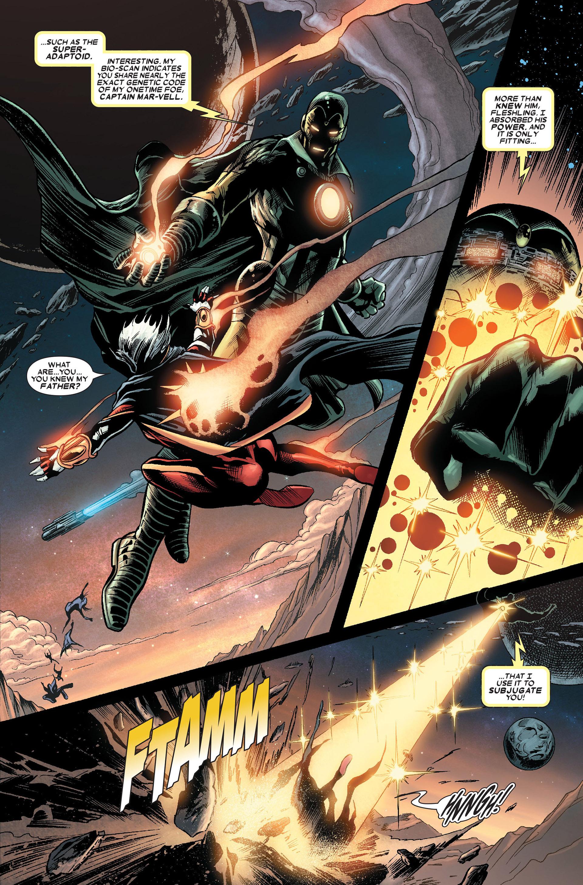 Read online Annihilation: Conquest - Quasar comic -  Issue #1 - 7