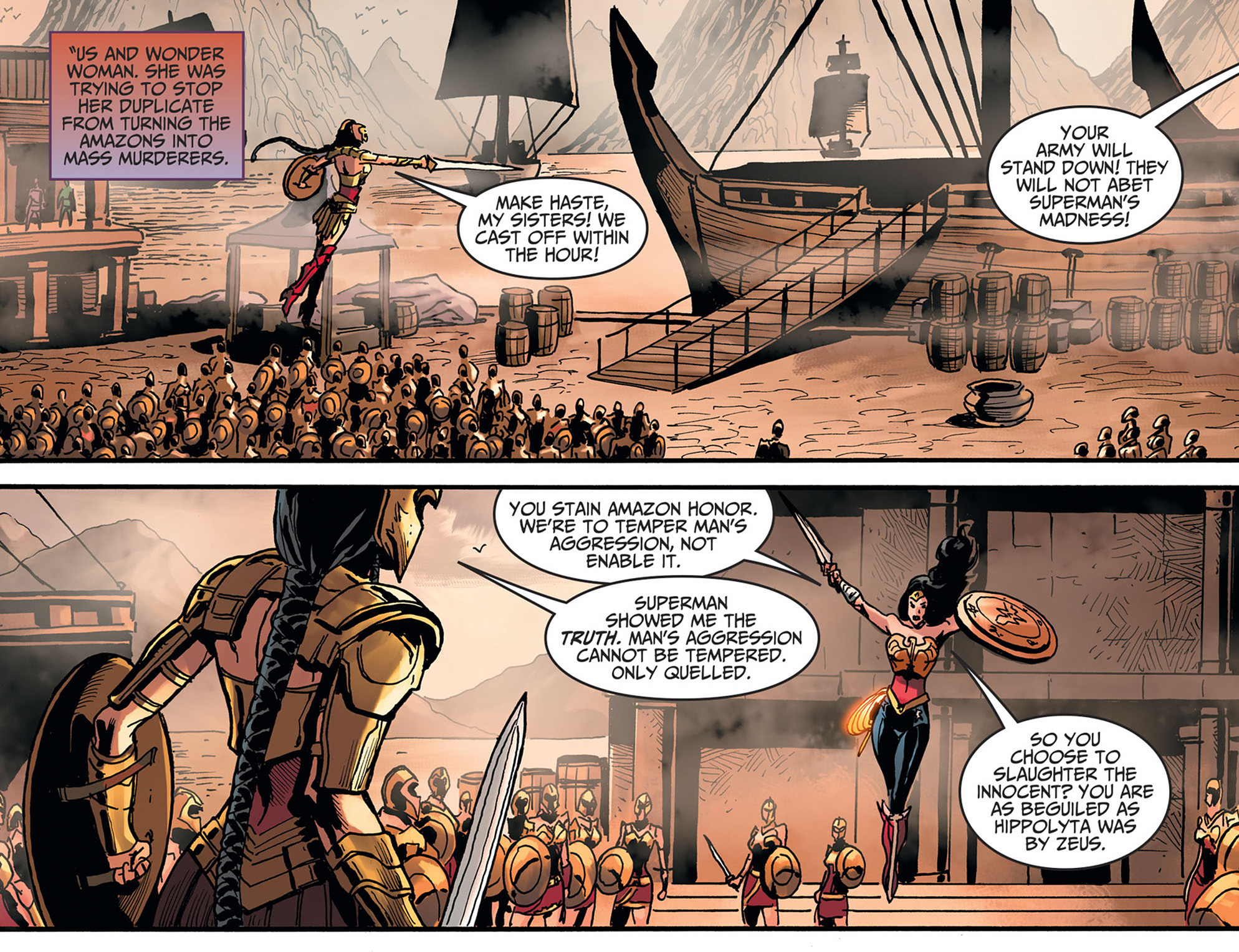 Read online Injustice: Ground Zero comic -  Issue #22 - 8