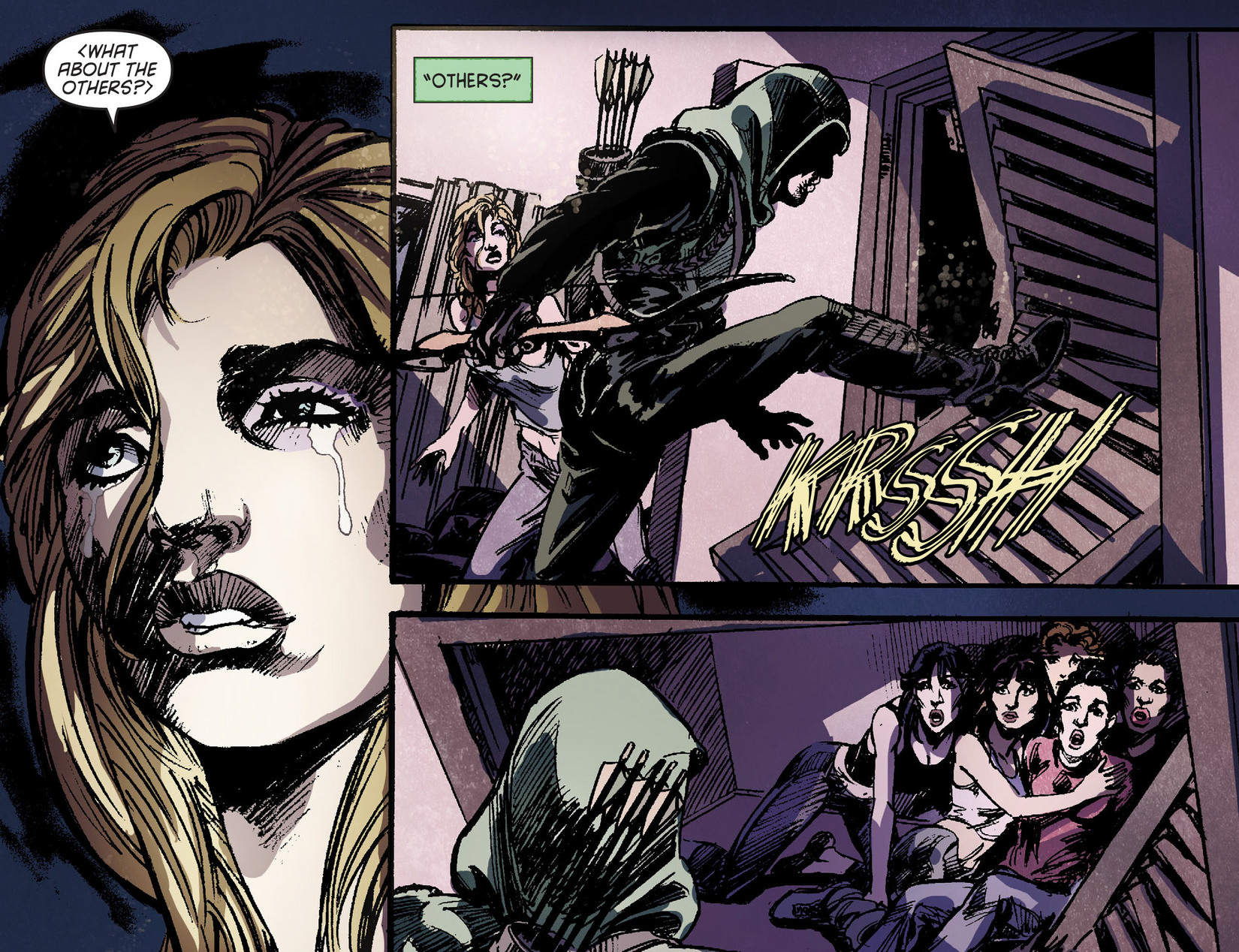Read online Arrow [II] comic -  Issue #6 - 20