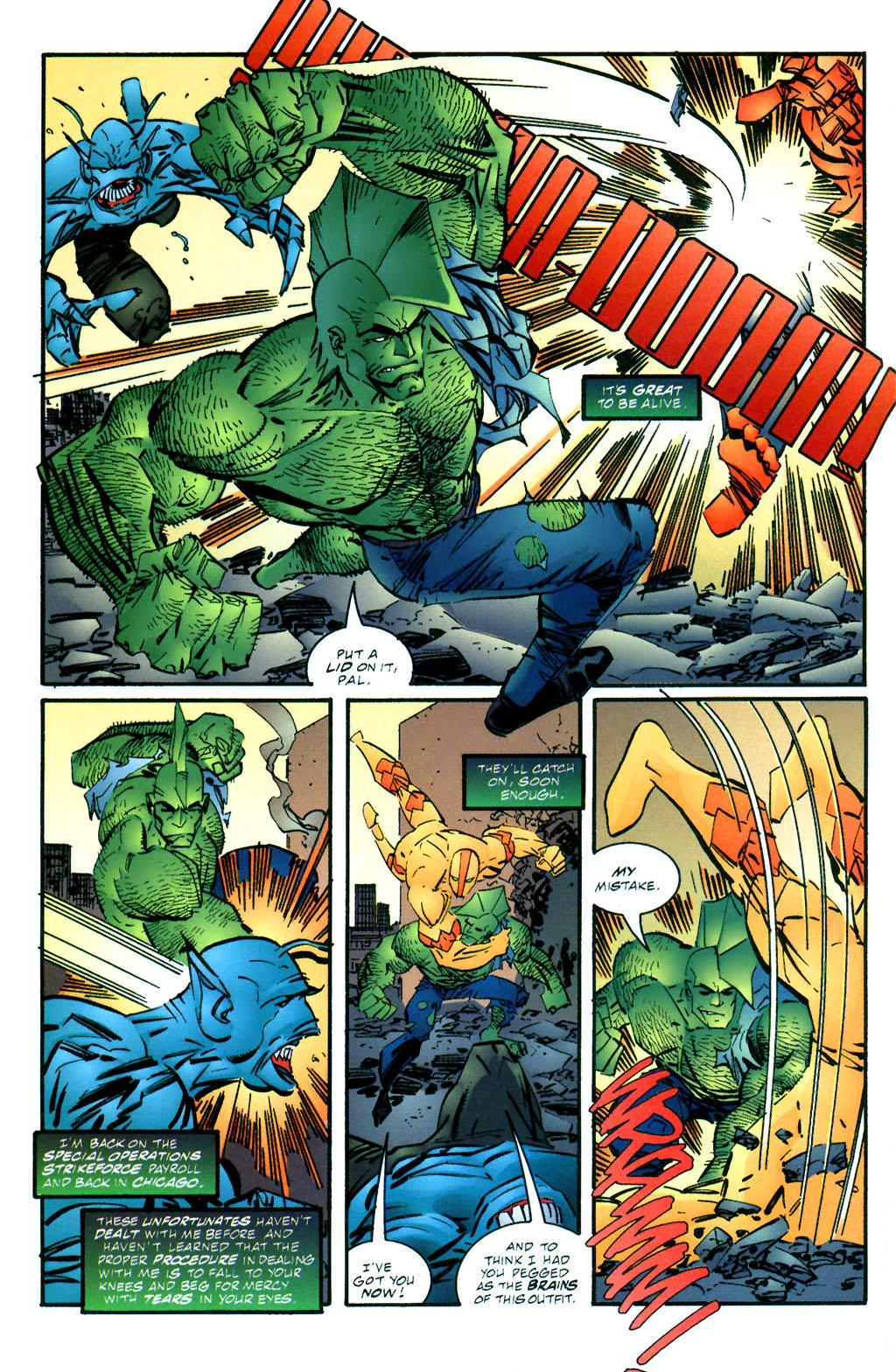 The Savage Dragon (1993) Issue #59 #62 - English 4
