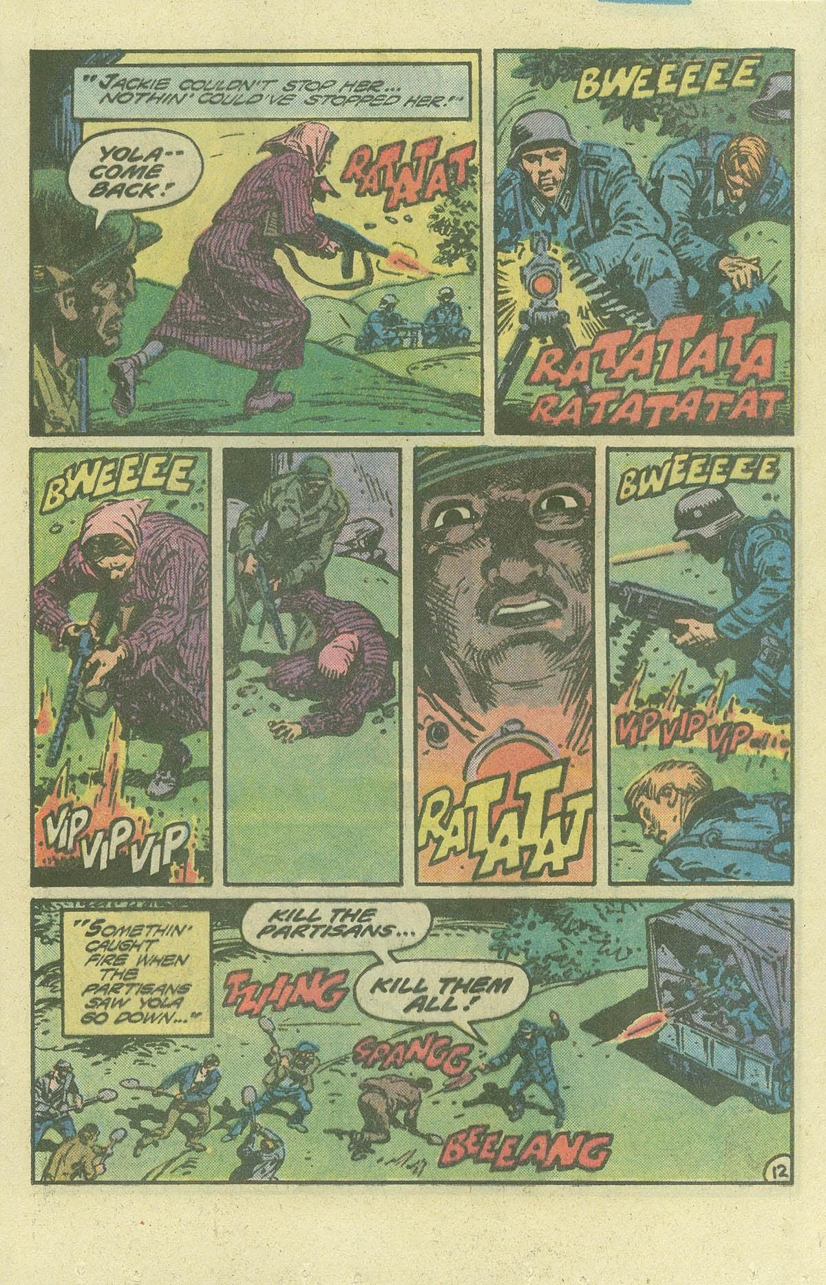 Read online Sgt. Rock comic -  Issue #386 - 12