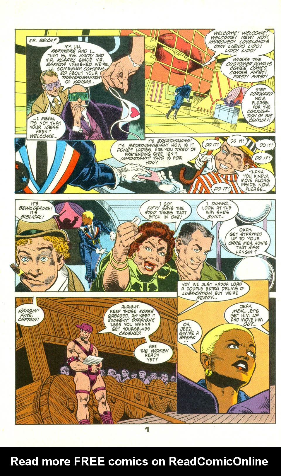 Read online American Flagg! comic -  Issue #25 - 23