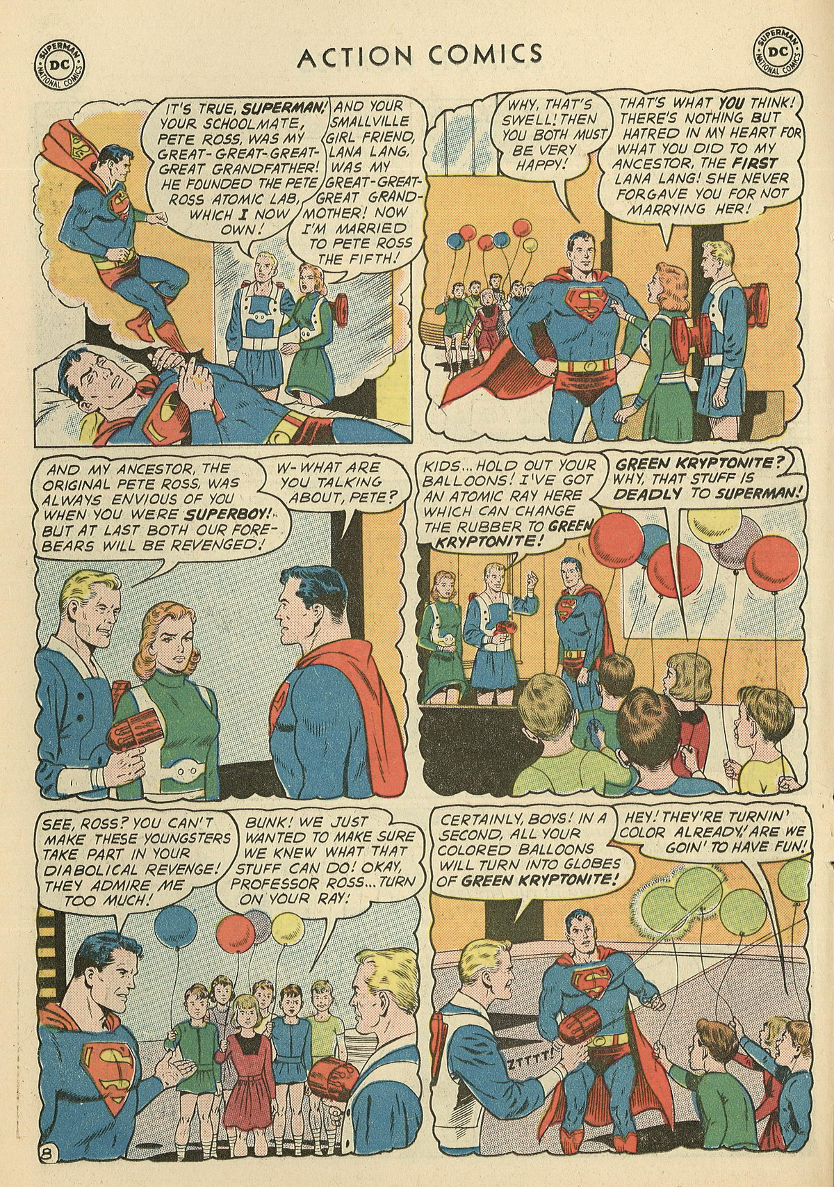 Read online Action Comics (1938) comic -  Issue #286 - 10