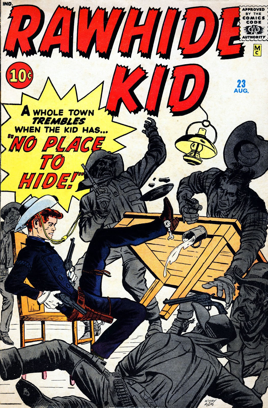 The Rawhide Kid (1955) issue 23 - Page 1
