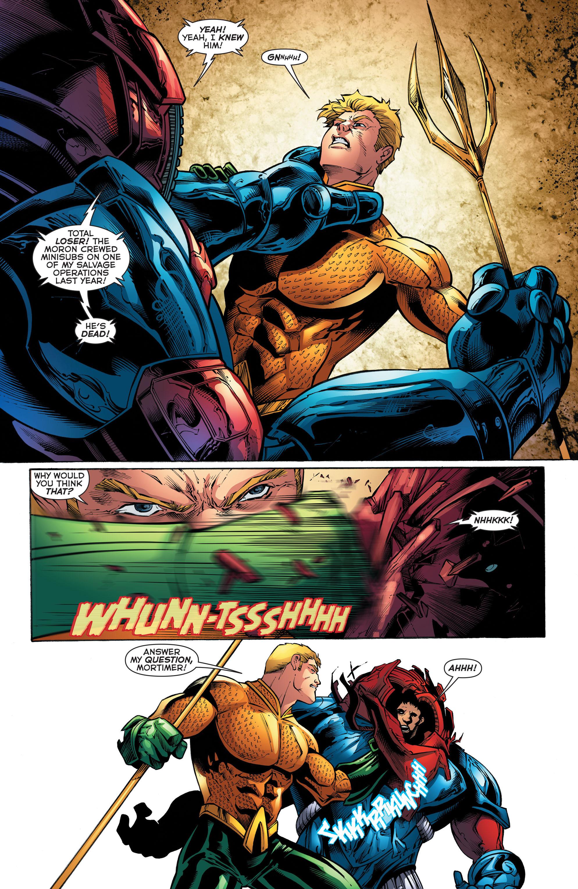 Read online Aquaman (2011) comic -  Issue #52 - 12