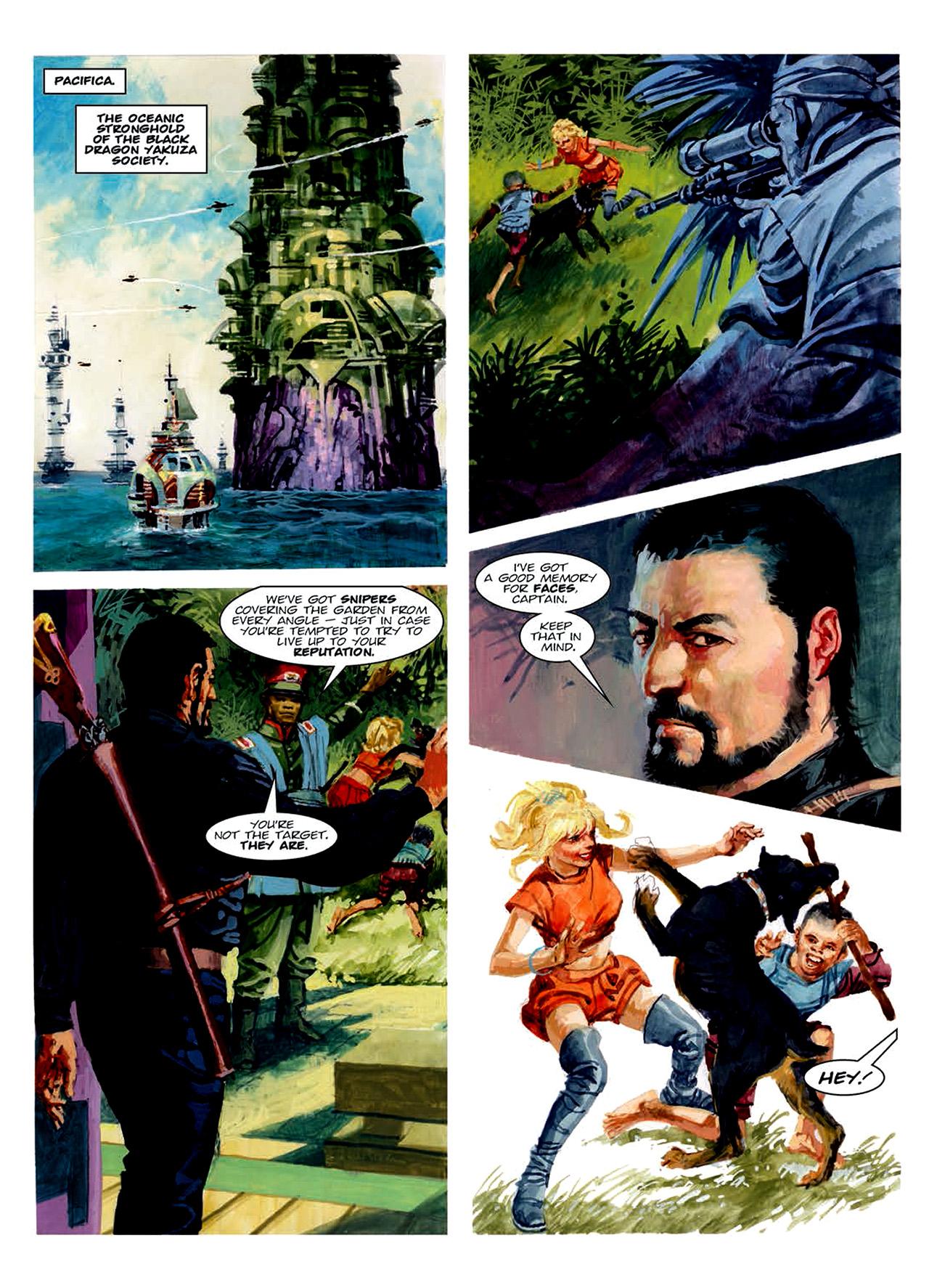 Read online Nikolai Dante comic -  Issue # TPB 6 - 156