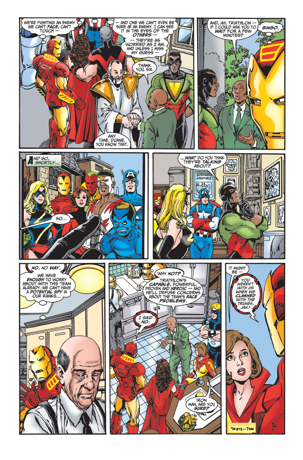 Read online Avengers (1998) comic -  Issue #27 - 17