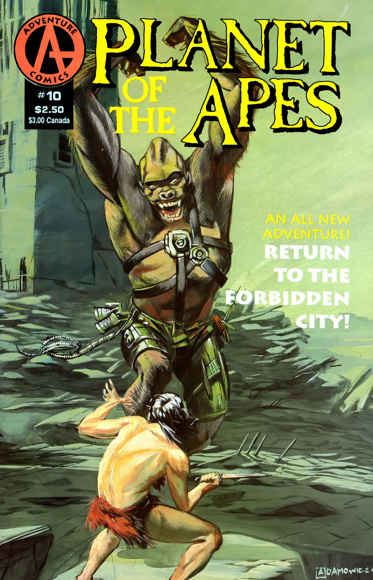 Planet of the Apes (1990) 10 Page 1