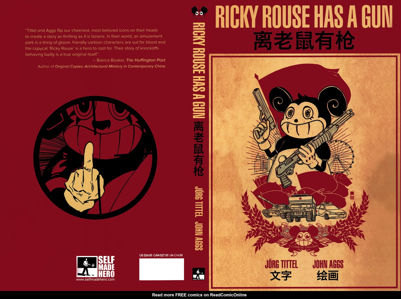 Read online Ricky Rouse Has A Gun comic -  Issue # TPB (Part 1) - 1