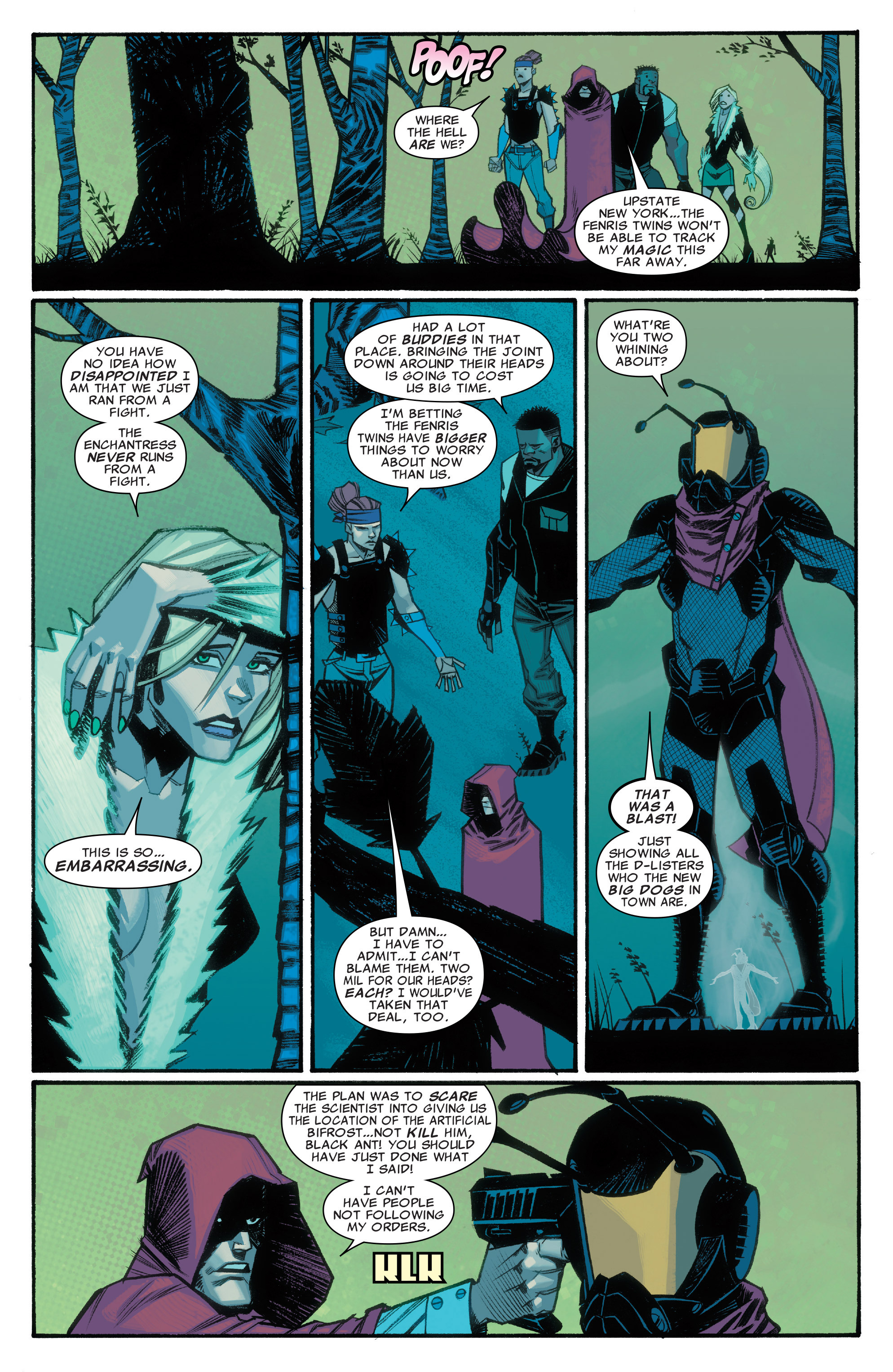 Read online Illuminati comic -  Issue #3 - 7
