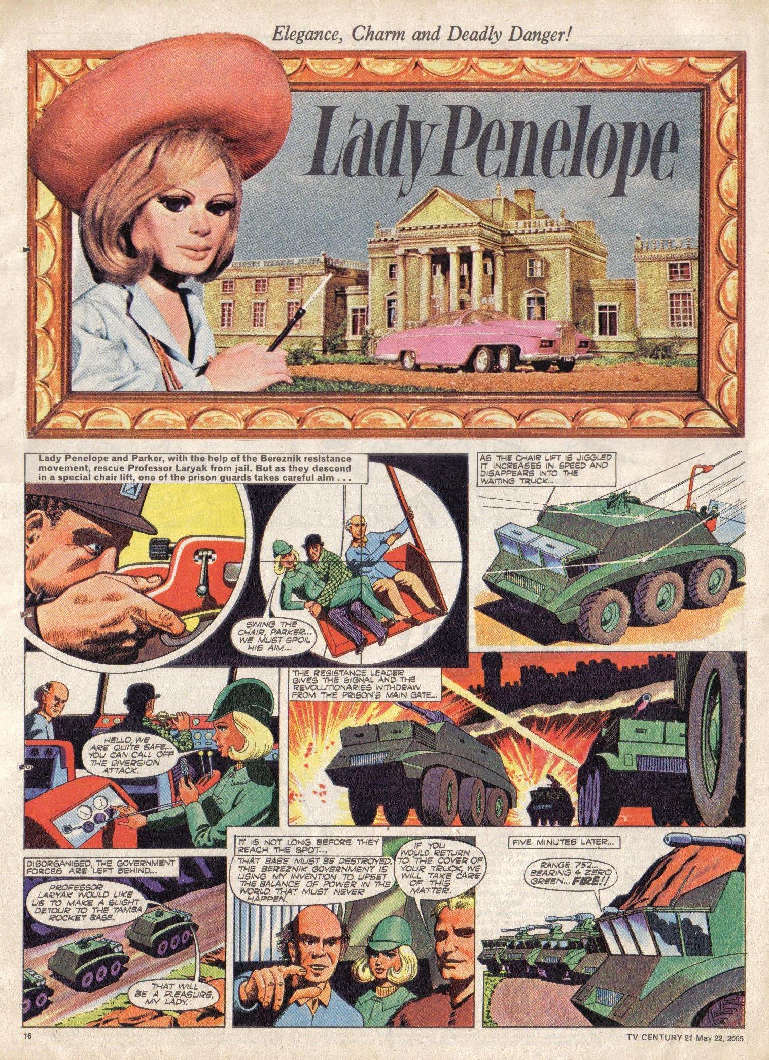 Read online TV Century 21 (TV 21) comic -  Issue #18 - 16