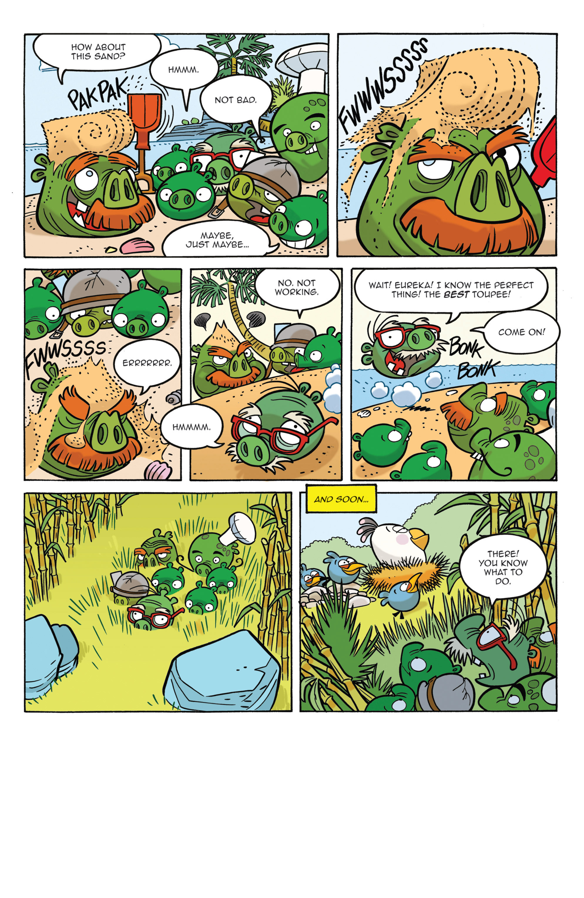 Read online Angry Birds Comics (2014) comic -  Issue #3 - 10