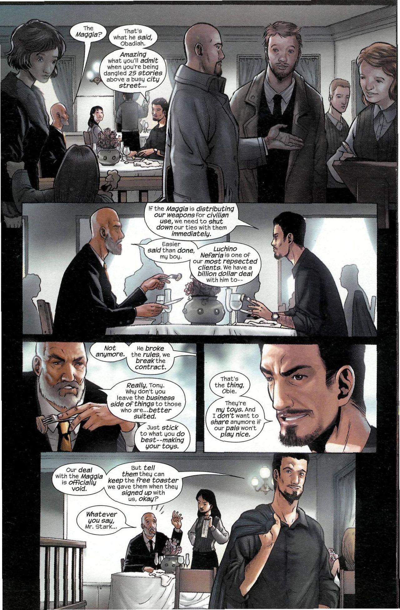 Read online Sega Iron Man Special comic -  Issue # Full - 5