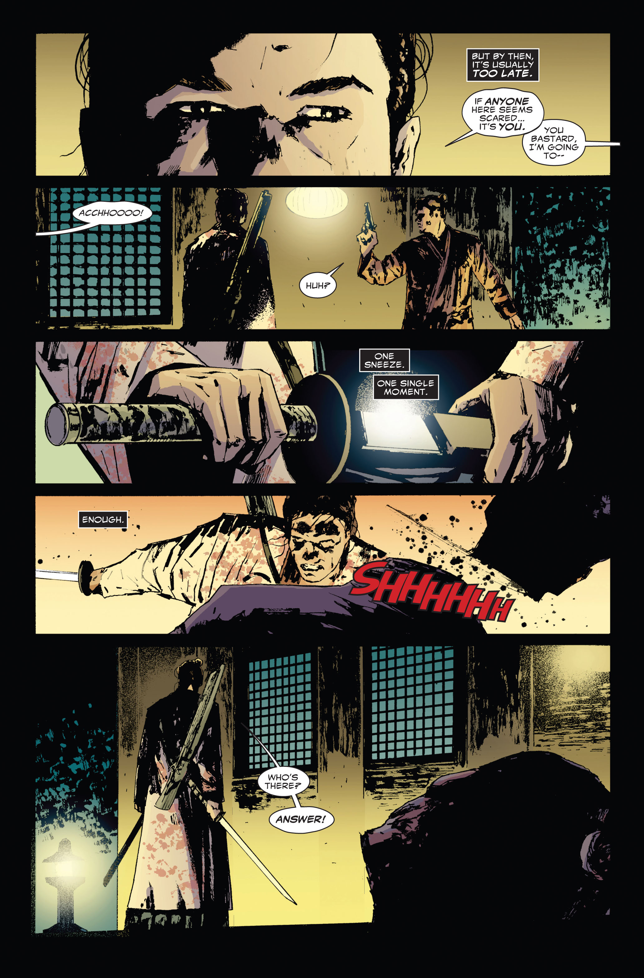 Read online 5 Ronin (2011) comic -  Issue #3 - 22