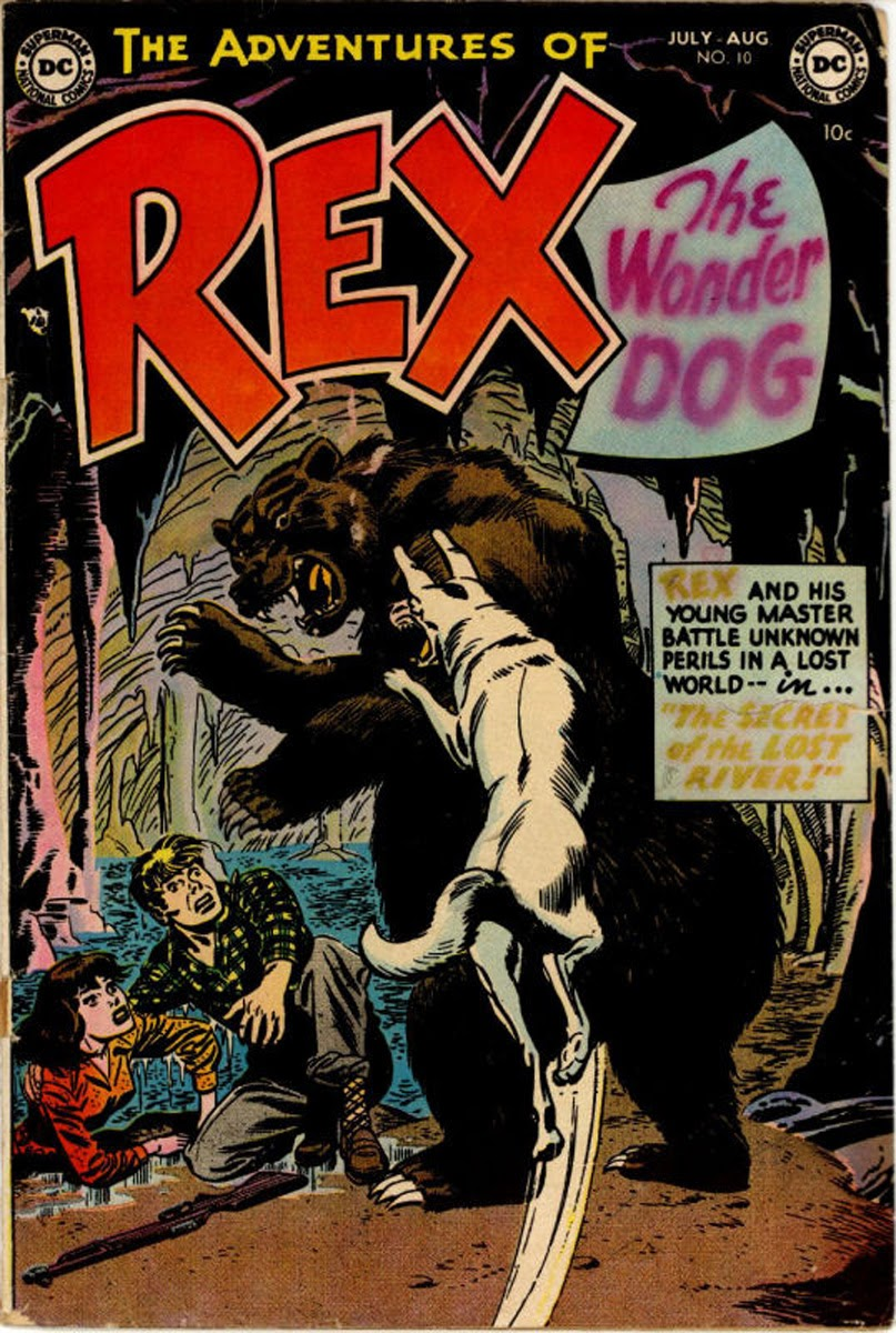 The Adventures of Rex the Wonder Dog issue 10 - Page 1