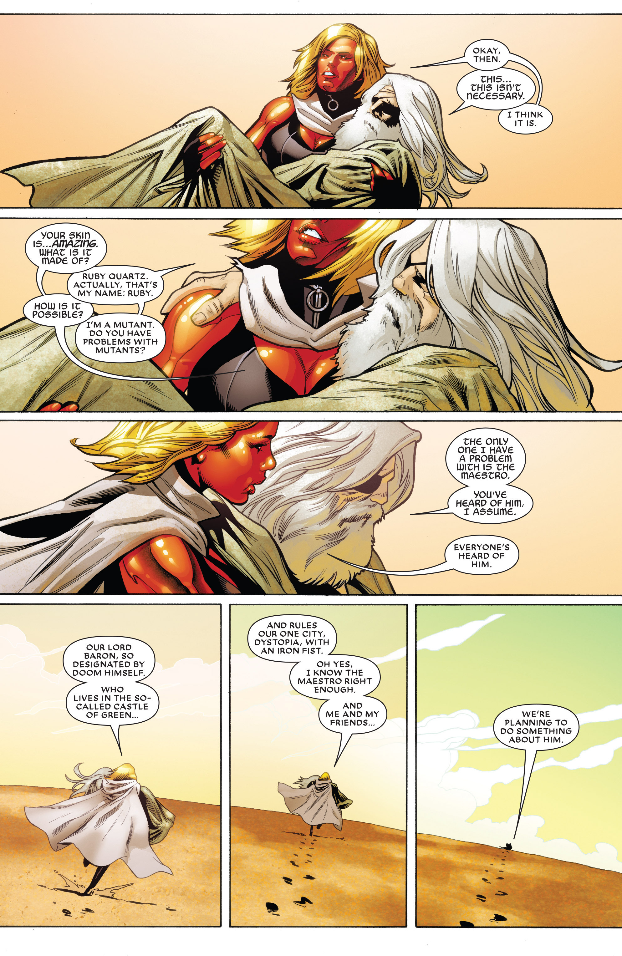 Read online Future Imperfect comic -  Issue #1 - 7