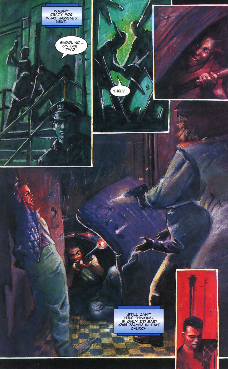 Read online Code of Honor comic -  Issue #2 - 45