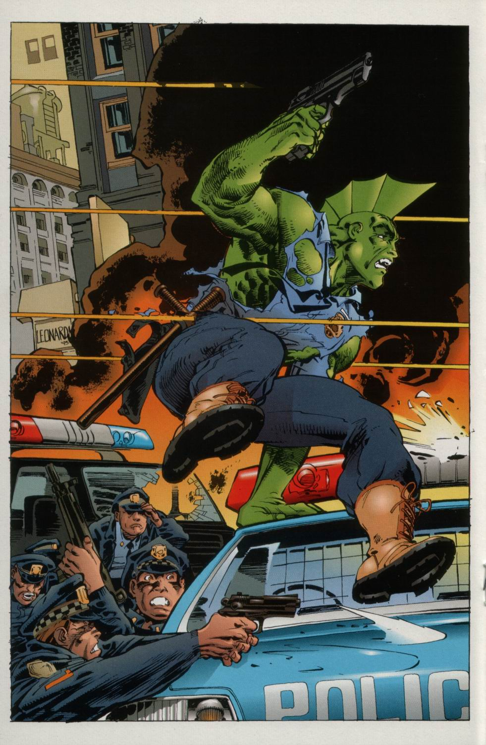 The Savage Dragon (1993) Issue #2 #4 - English 23
