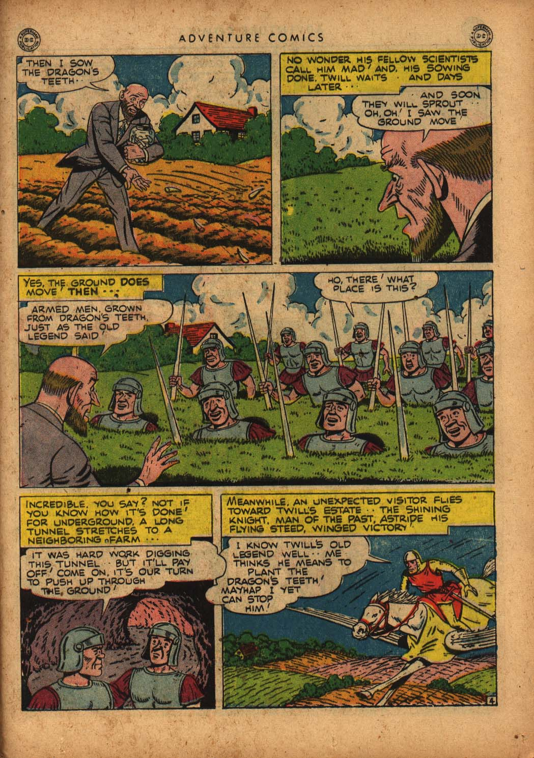 Read online Adventure Comics (1938) comic -  Issue #109 - 37