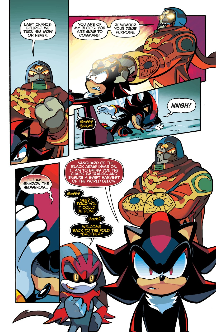 Read online Sonic Universe comic -  Issue #60 - 17