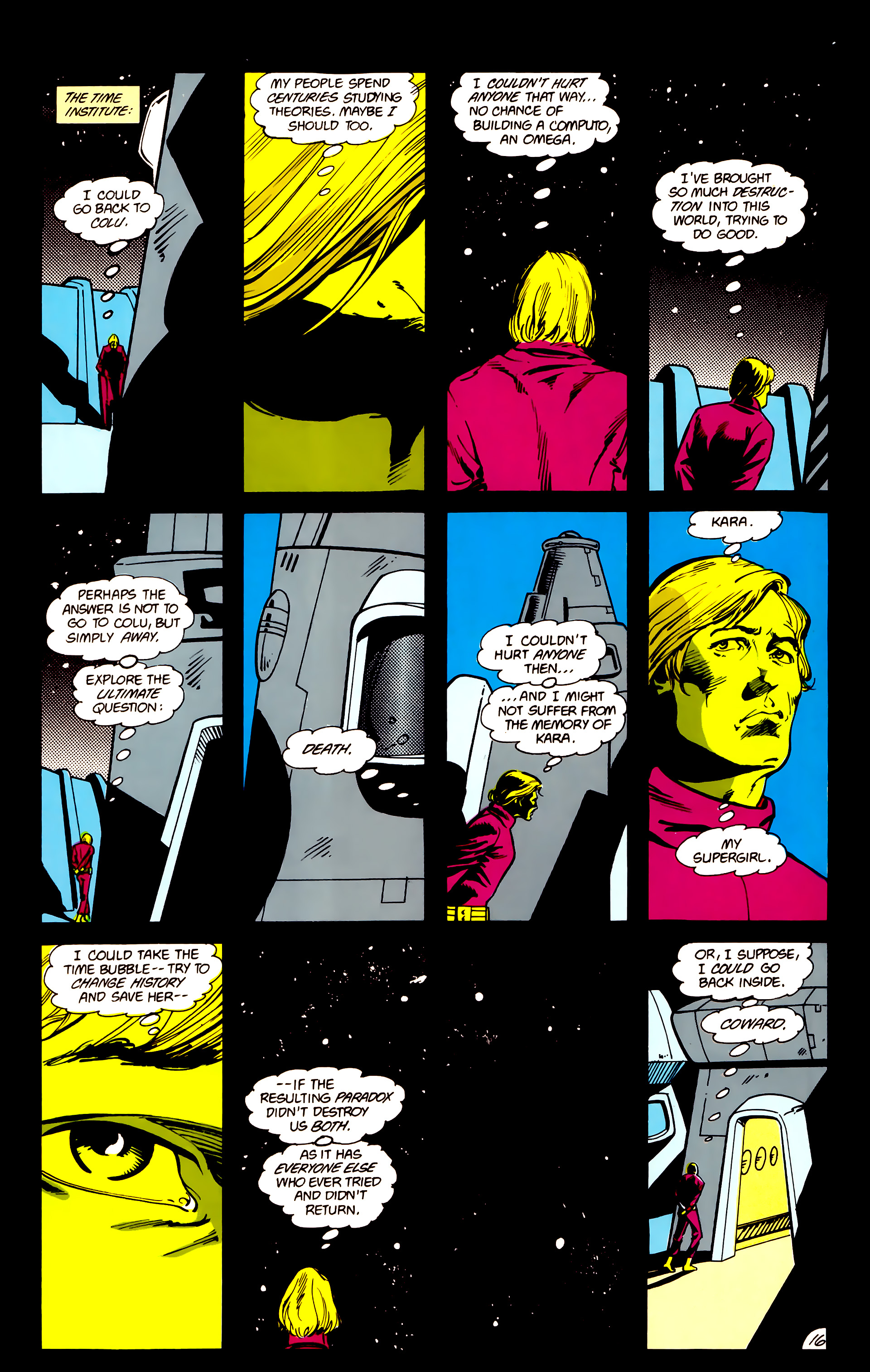 Legion of Super-Heroes (1984) 16 Page 17