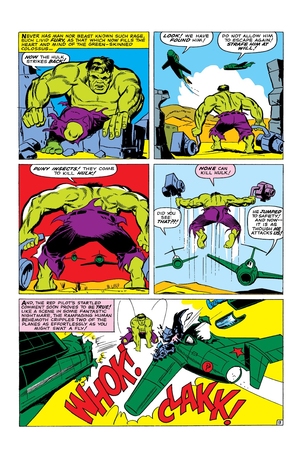 Read online Marvel Masterworks: The Incredible Hulk comic -  Issue # TPB 2 (Part 1) - 99