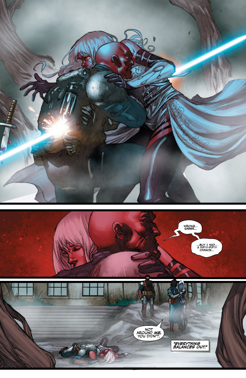 Read online Star Wars Legends: The Old Republic - Epic Collection comic -  Issue # TPB 3 (Part 3) - 95