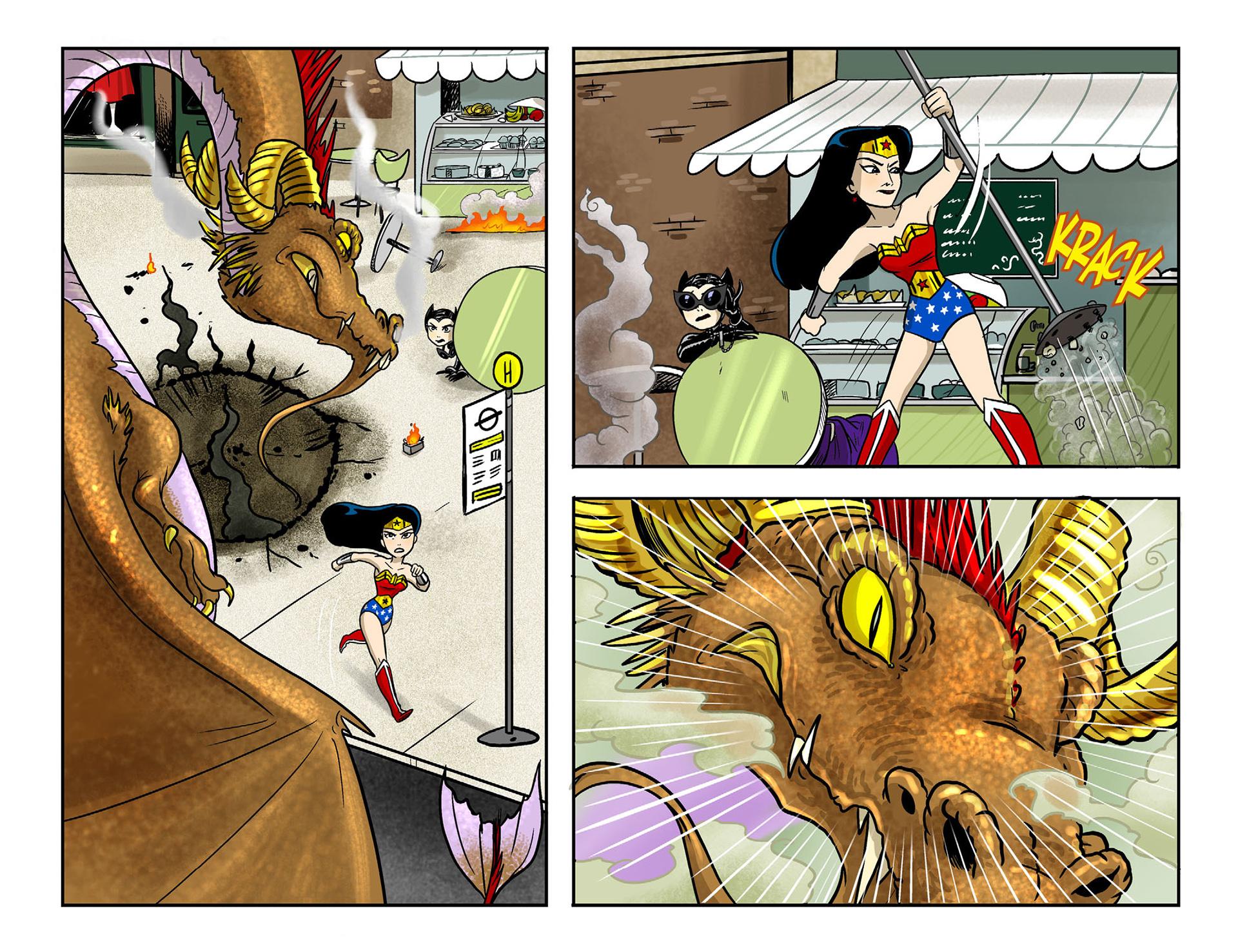 Read online Sensation Comics Featuring Wonder Woman comic -  Issue #9 - 17