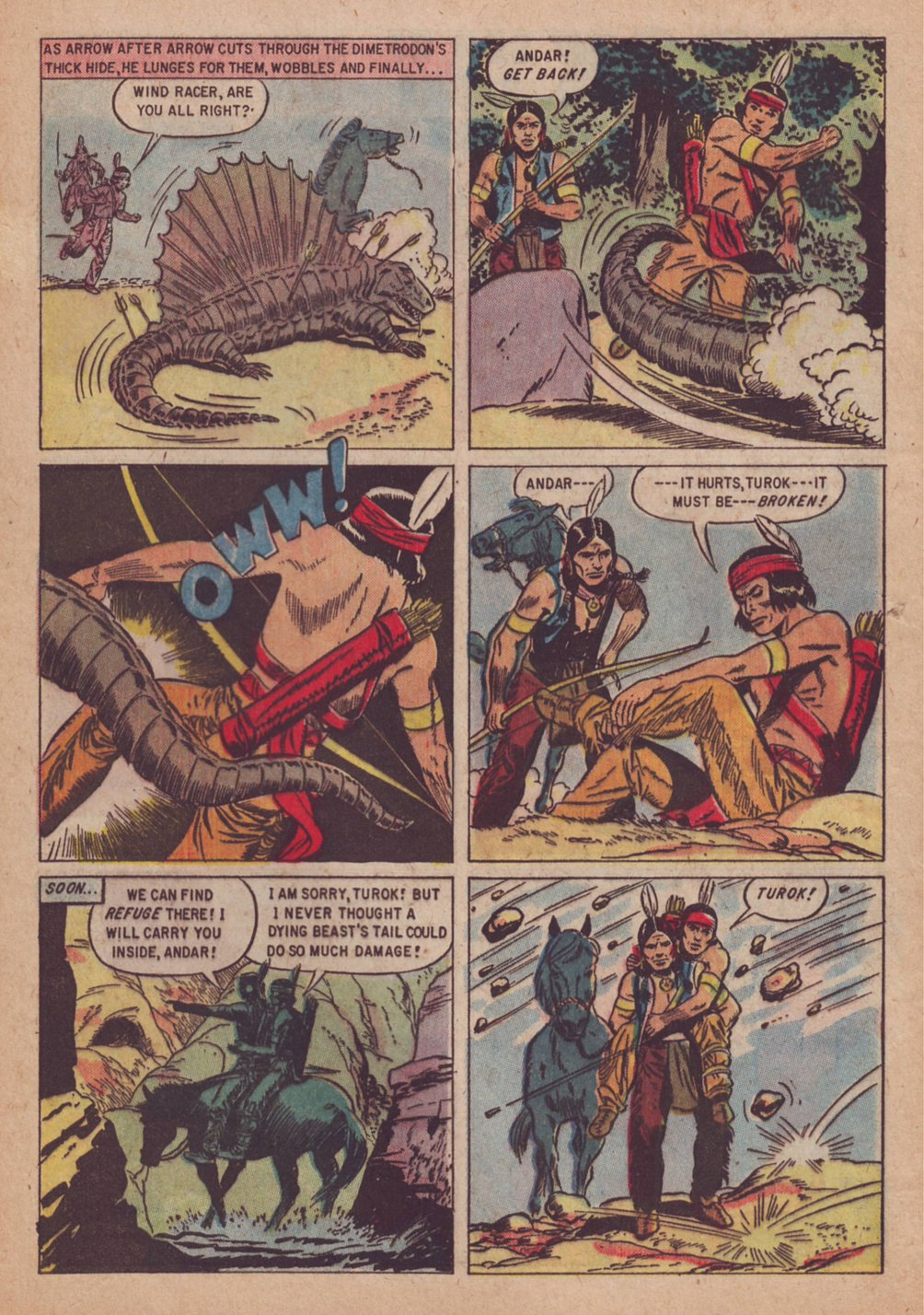 Read online Turok, Son of Stone comic -  Issue #9 - 4