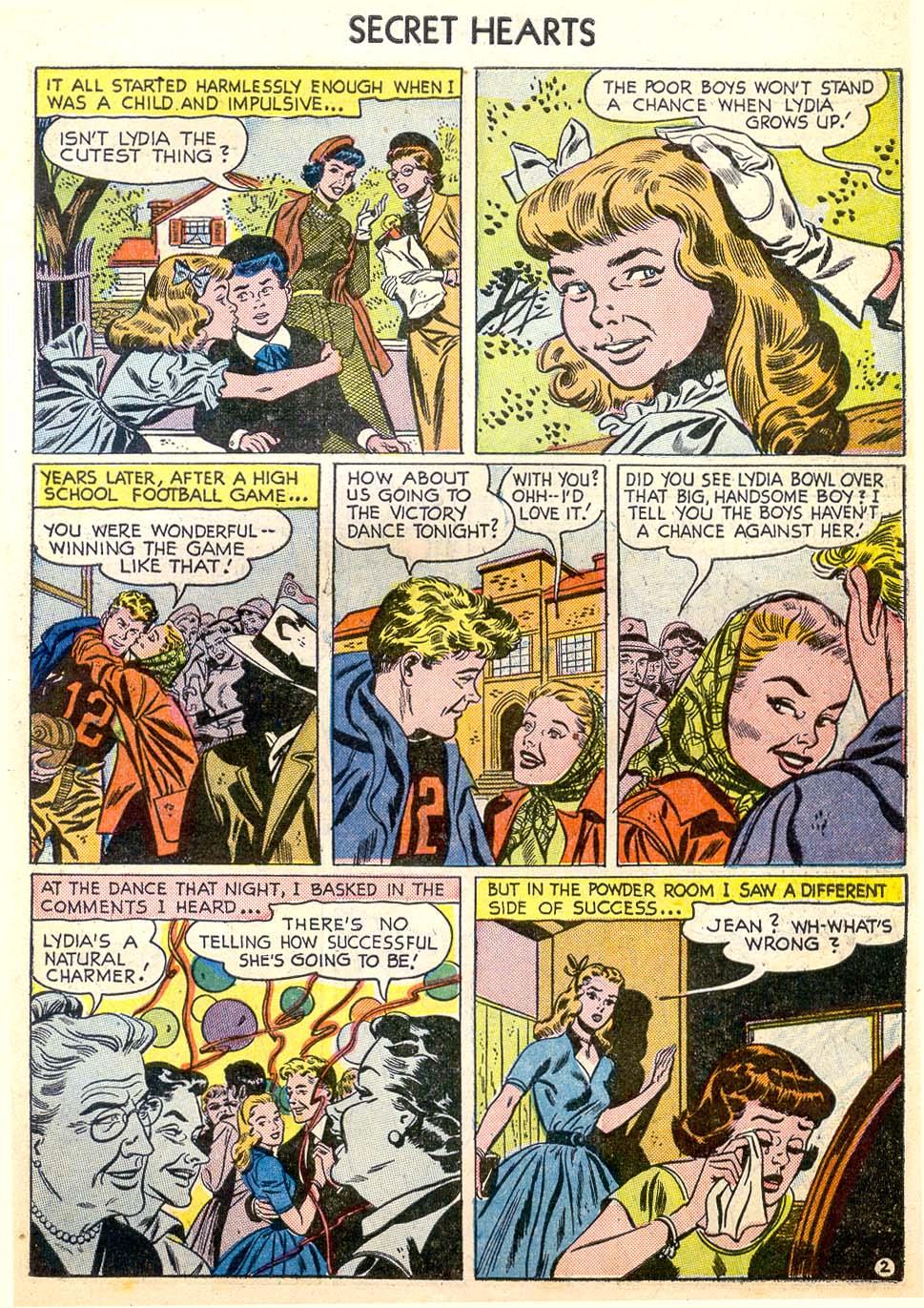 Read online Secret Hearts comic -  Issue #26 - 27