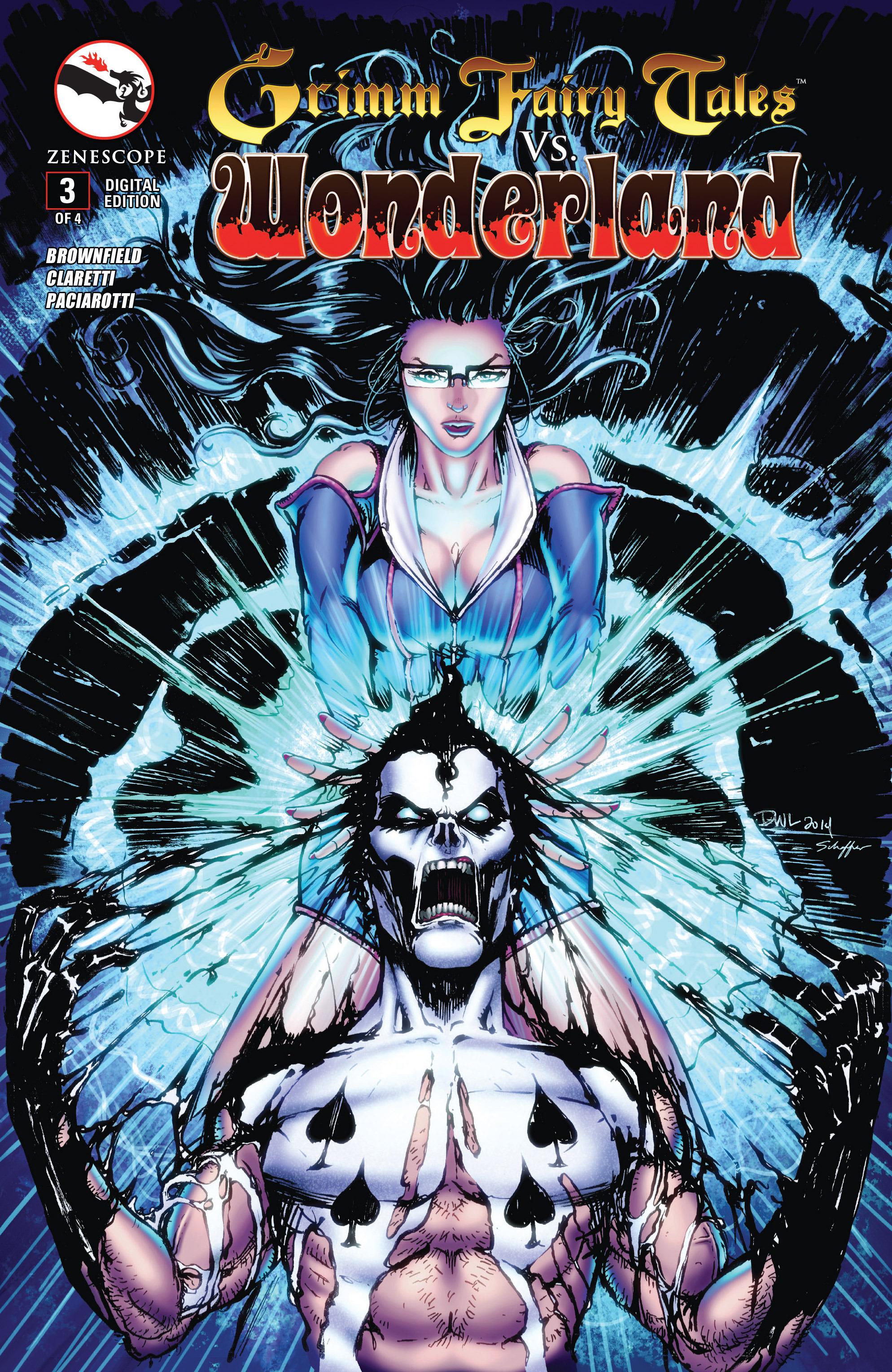Read online Grimm Fairy Tales vs. Wonderland comic -  Issue #3 - 1