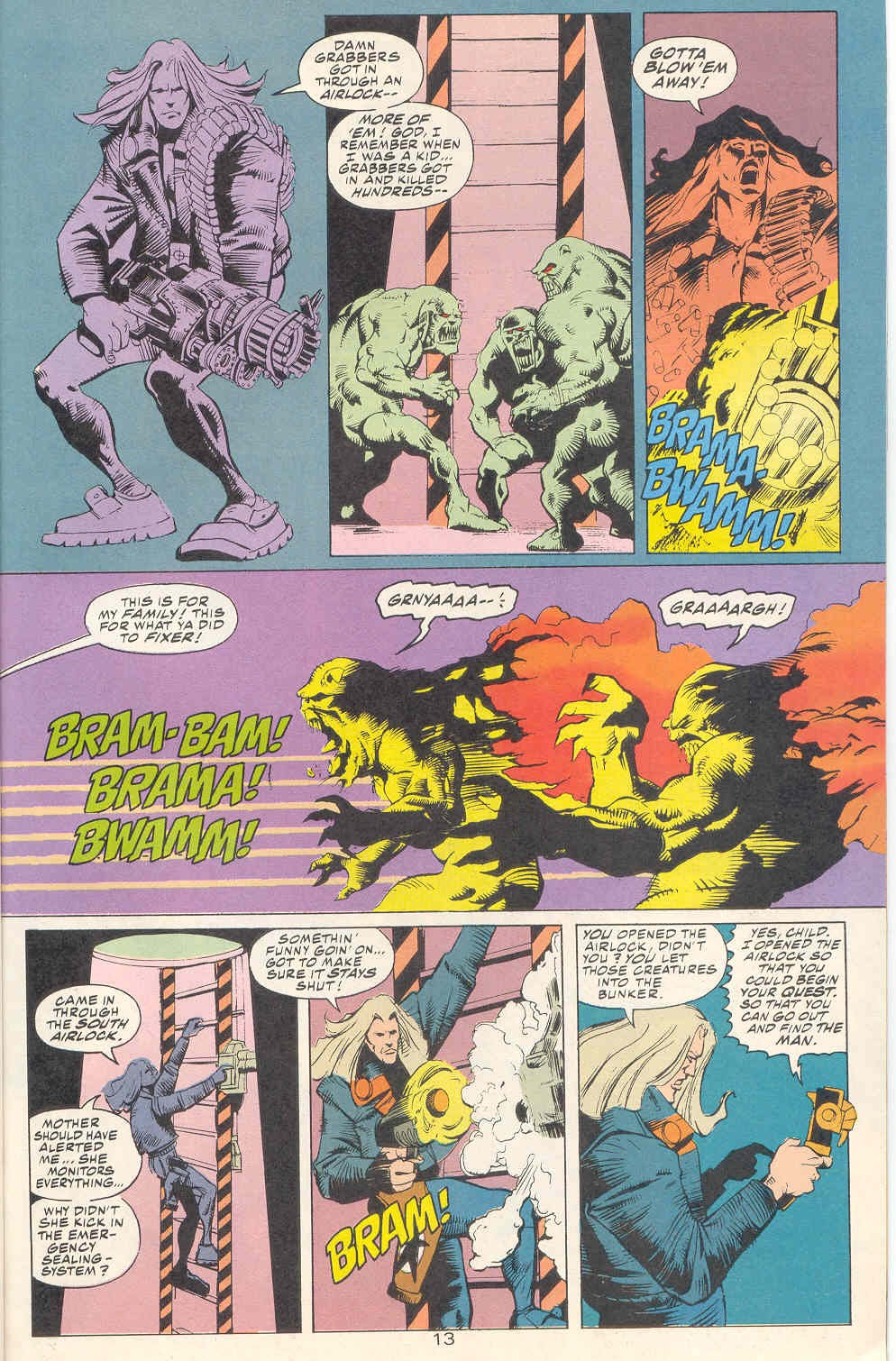Read online Kamandi: At Earth's End comic -  Issue #1 - 14
