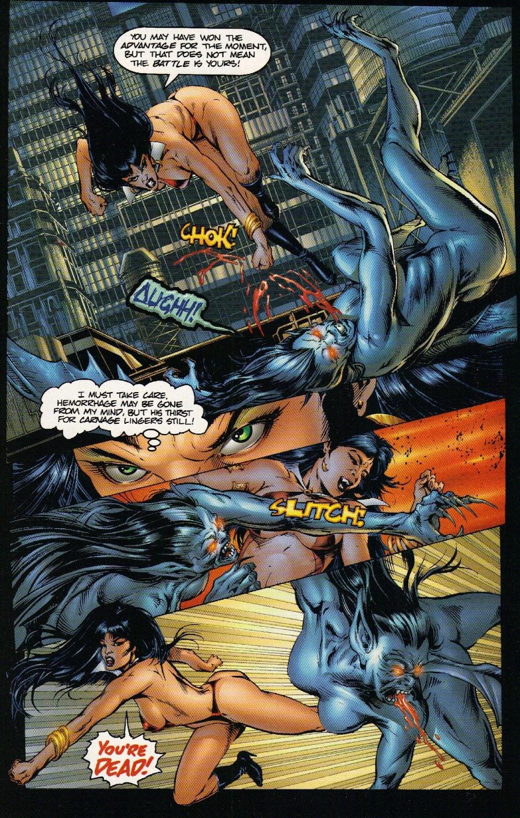 Vampirella vs Hemorrhage issue 1 - Page 20