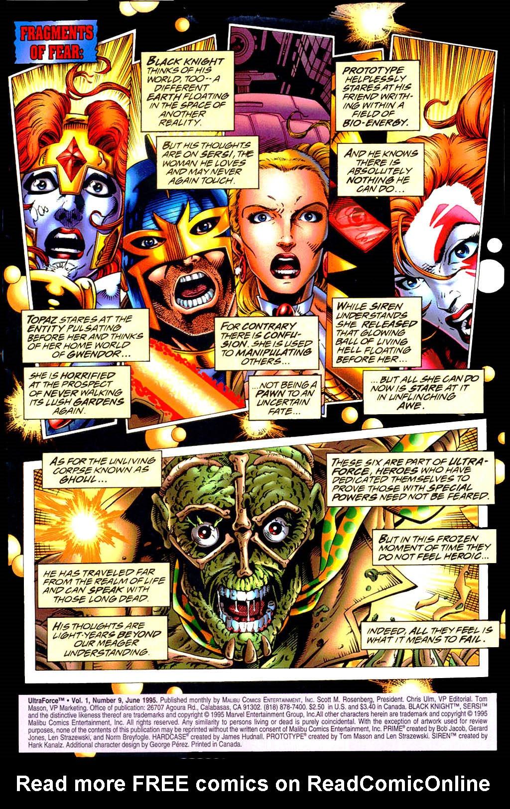 Read online UltraForce (1994) comic -  Issue #9 - 2