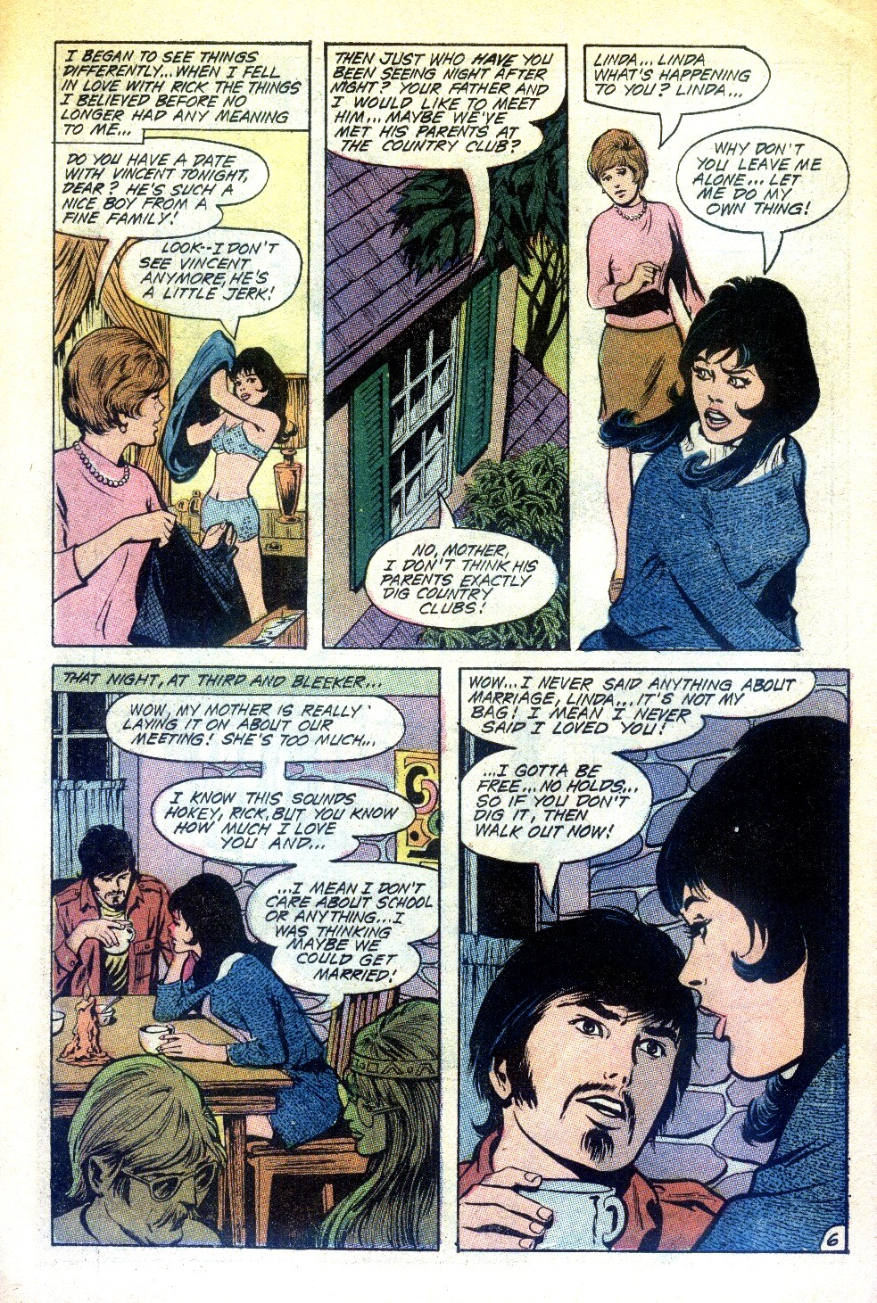 Read online Secret Hearts comic -  Issue #148 - 10