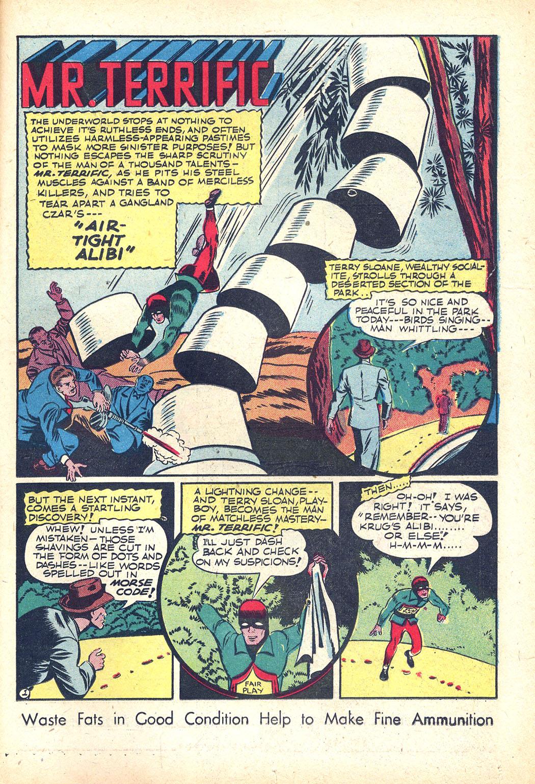 Read online Sensation (Mystery) Comics comic -  Issue #34 - 33