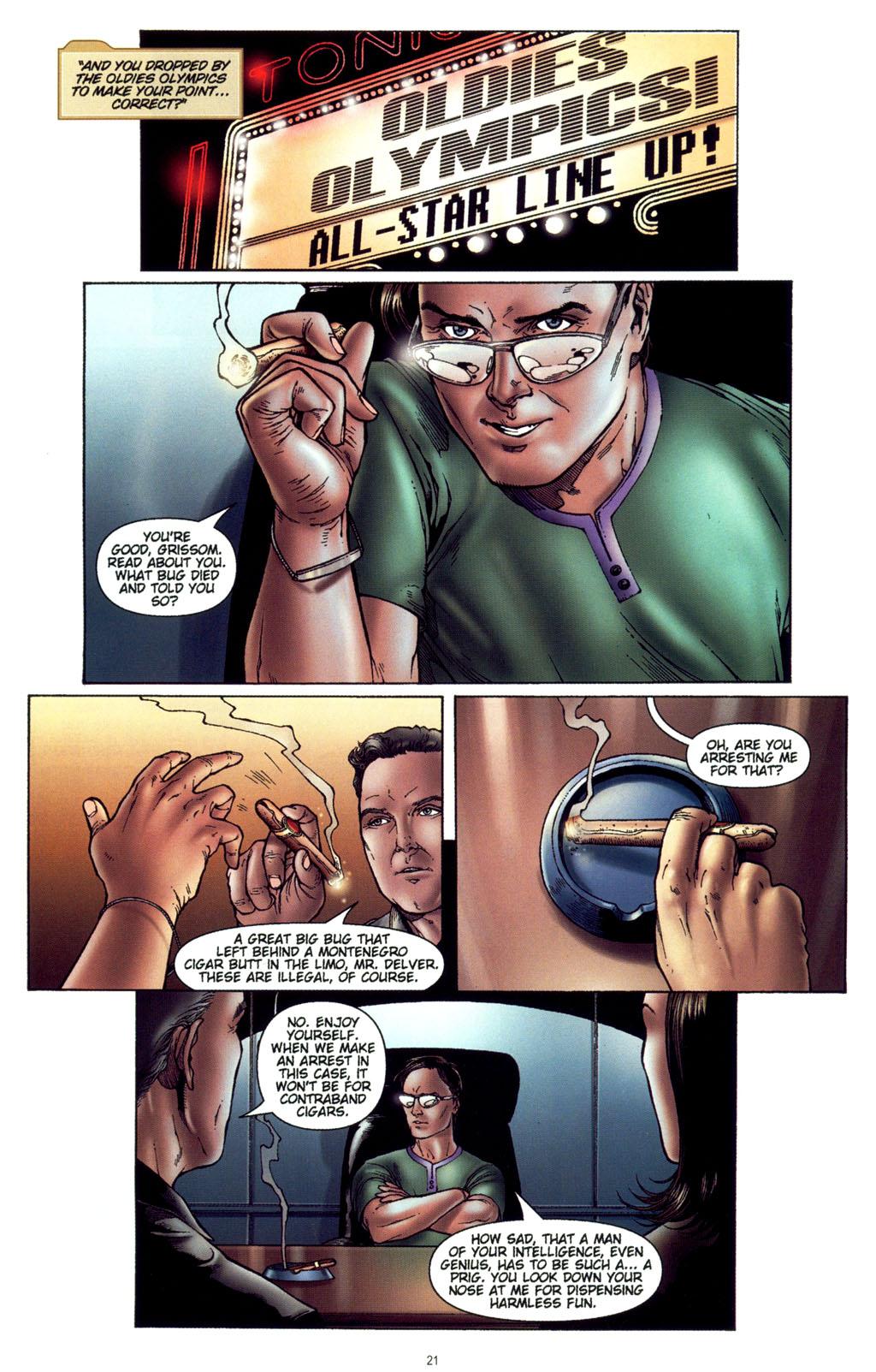 Read online CSI: Crime Scene Investigation: Bad Rap comic -  Issue #4 - 22