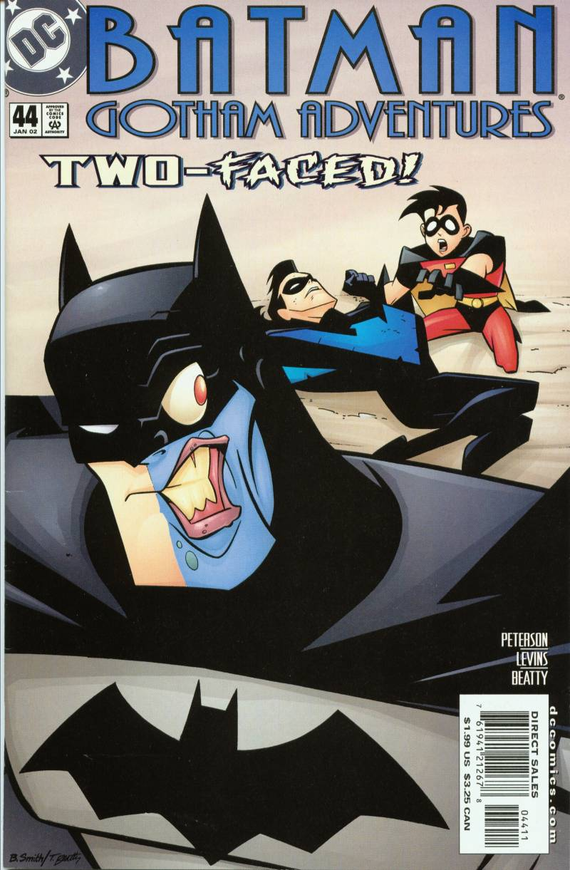 Batman: Gotham Adventures issue 44 - Page 1