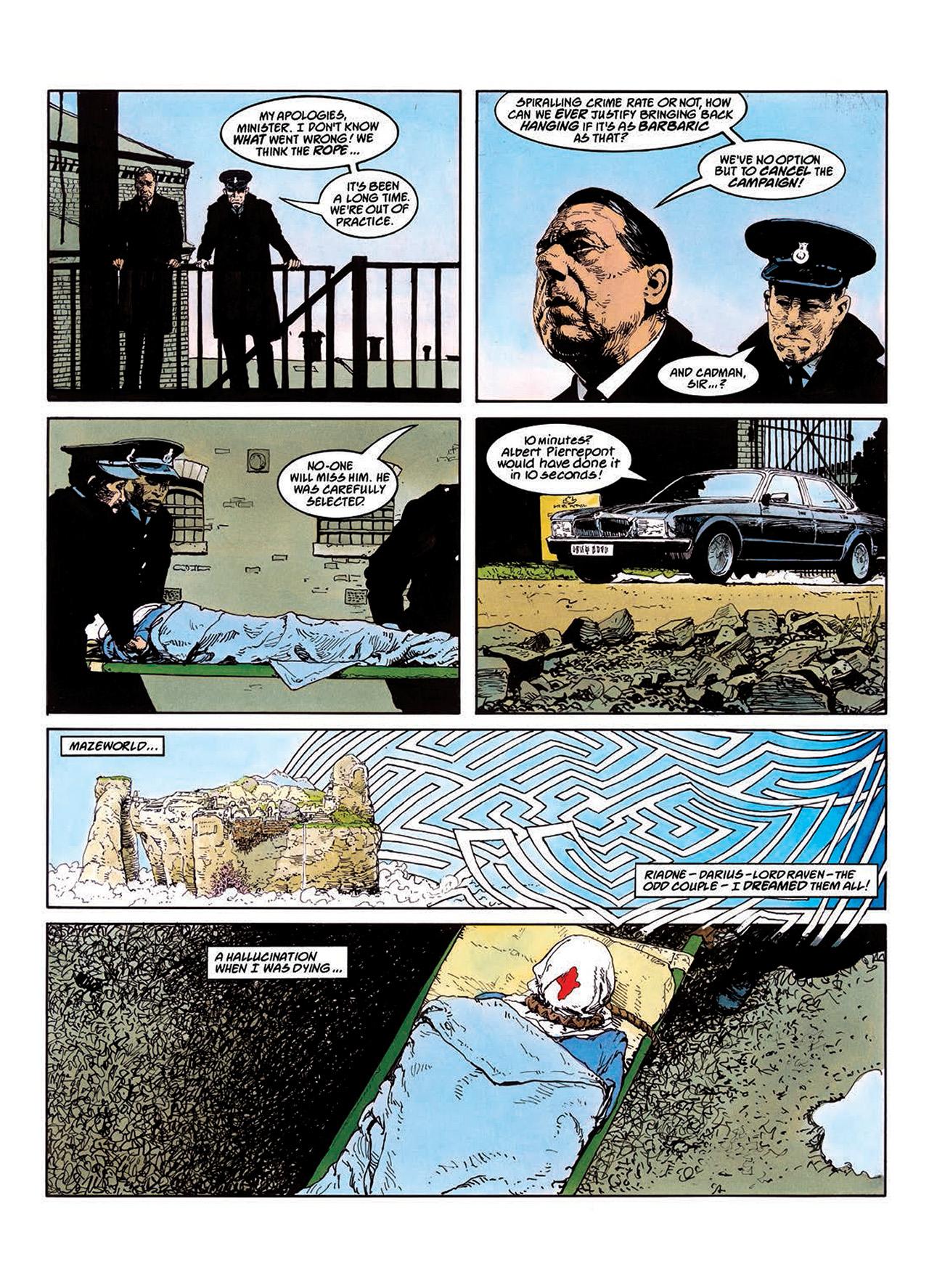 Read online Mazeworld comic -  Issue # TPB - 63