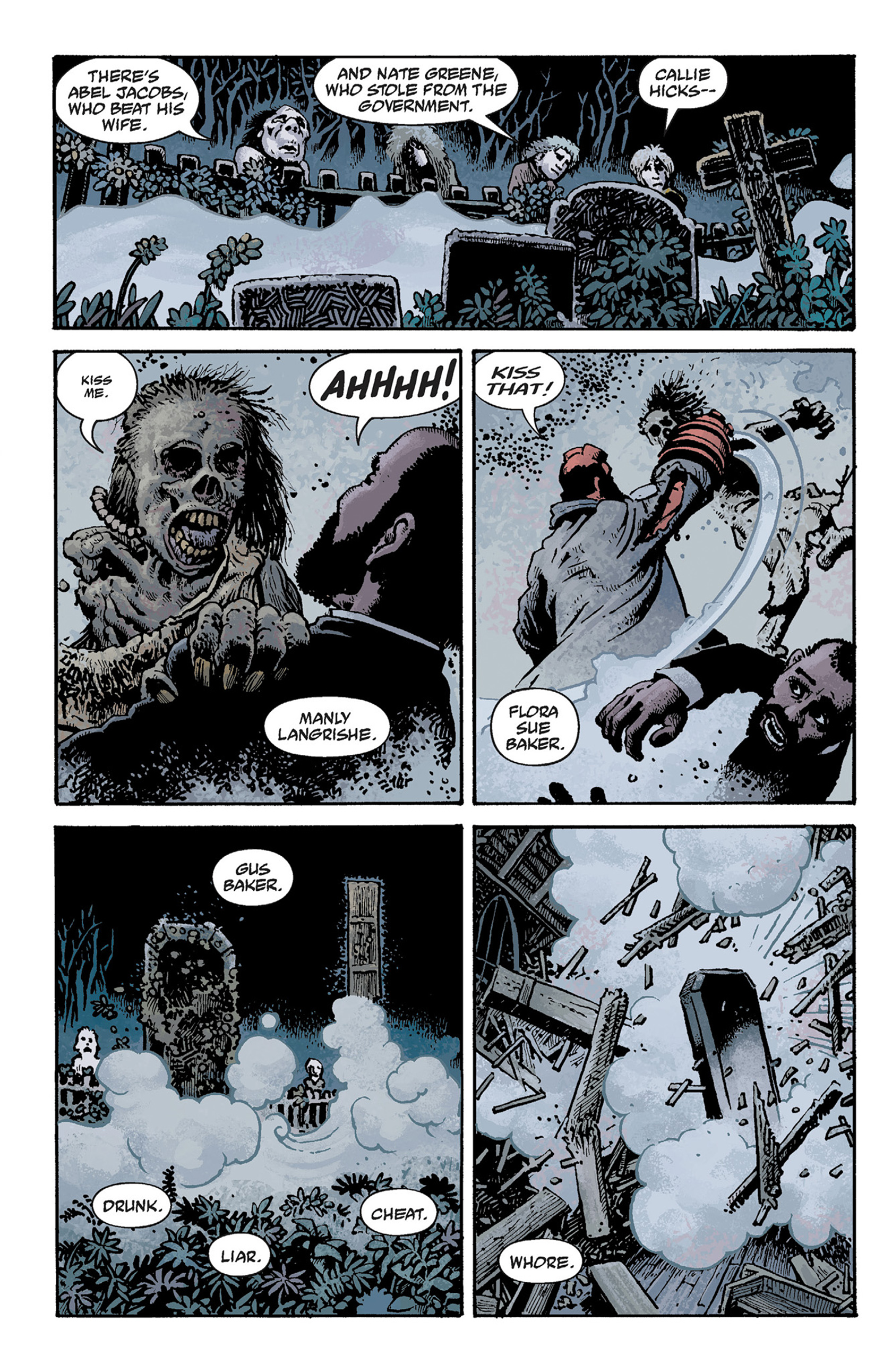 Read online Hellboy: The Crooked Man and Others comic -  Issue # TPB - 66