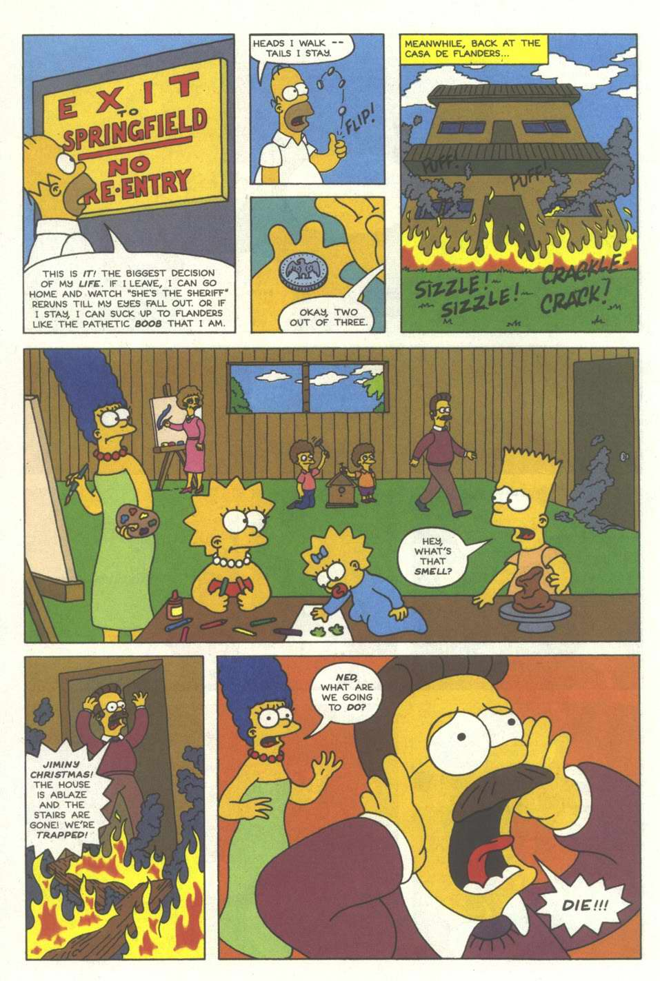 Read online Simpsons Comics comic -  Issue #12 - 19