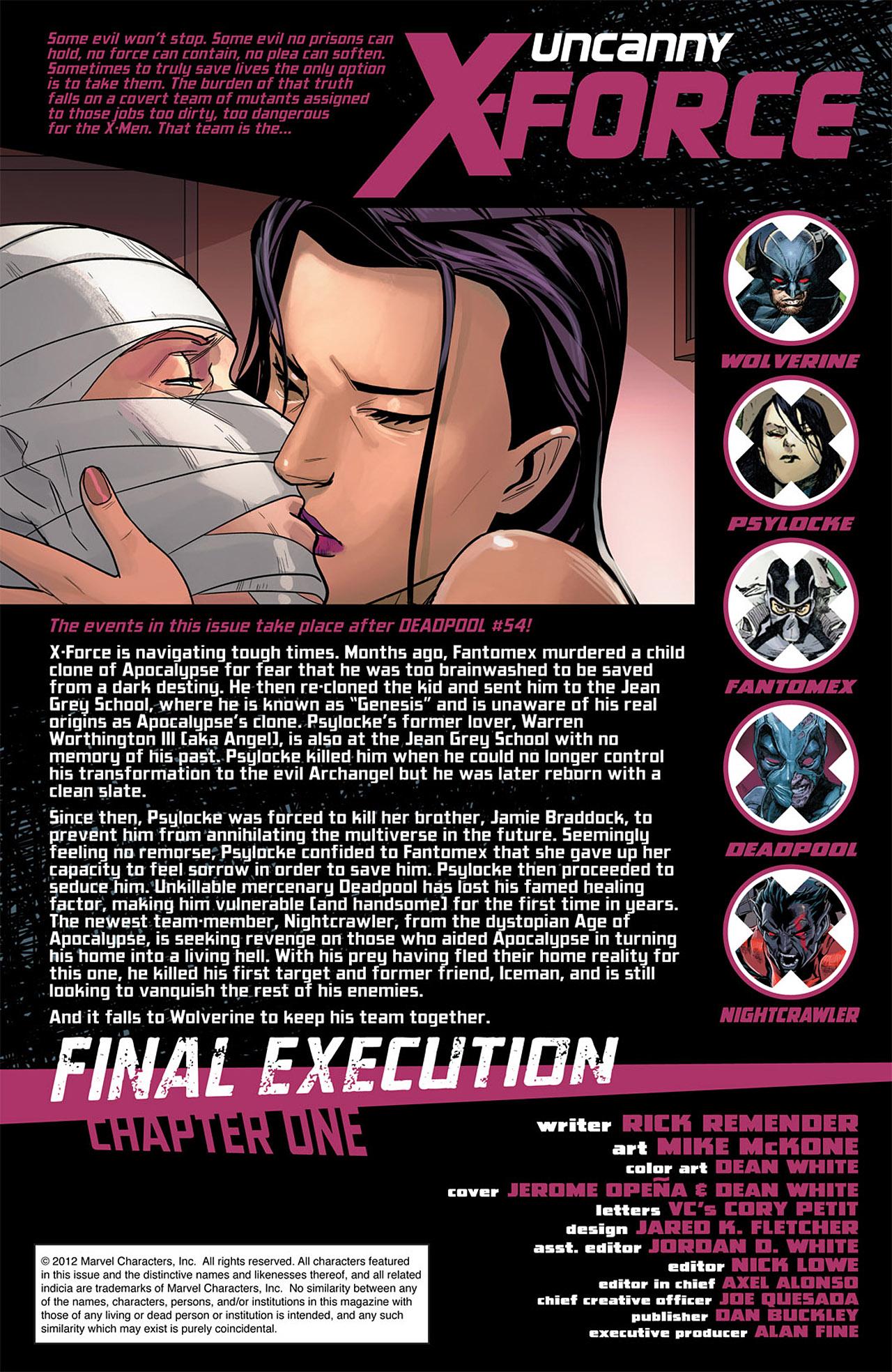 Uncanny X-Force (2010) #25 #27 - English 2