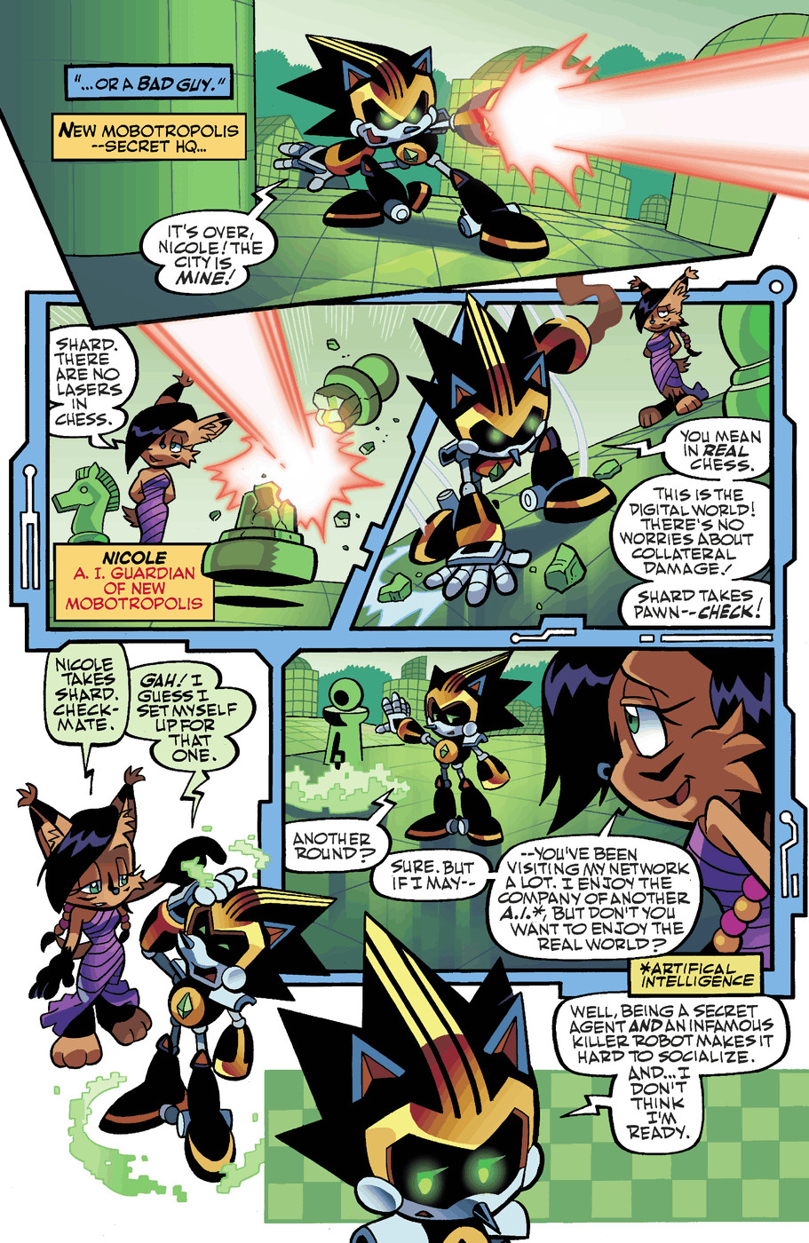 Read online Sonic Universe comic -  Issue #50 - 9