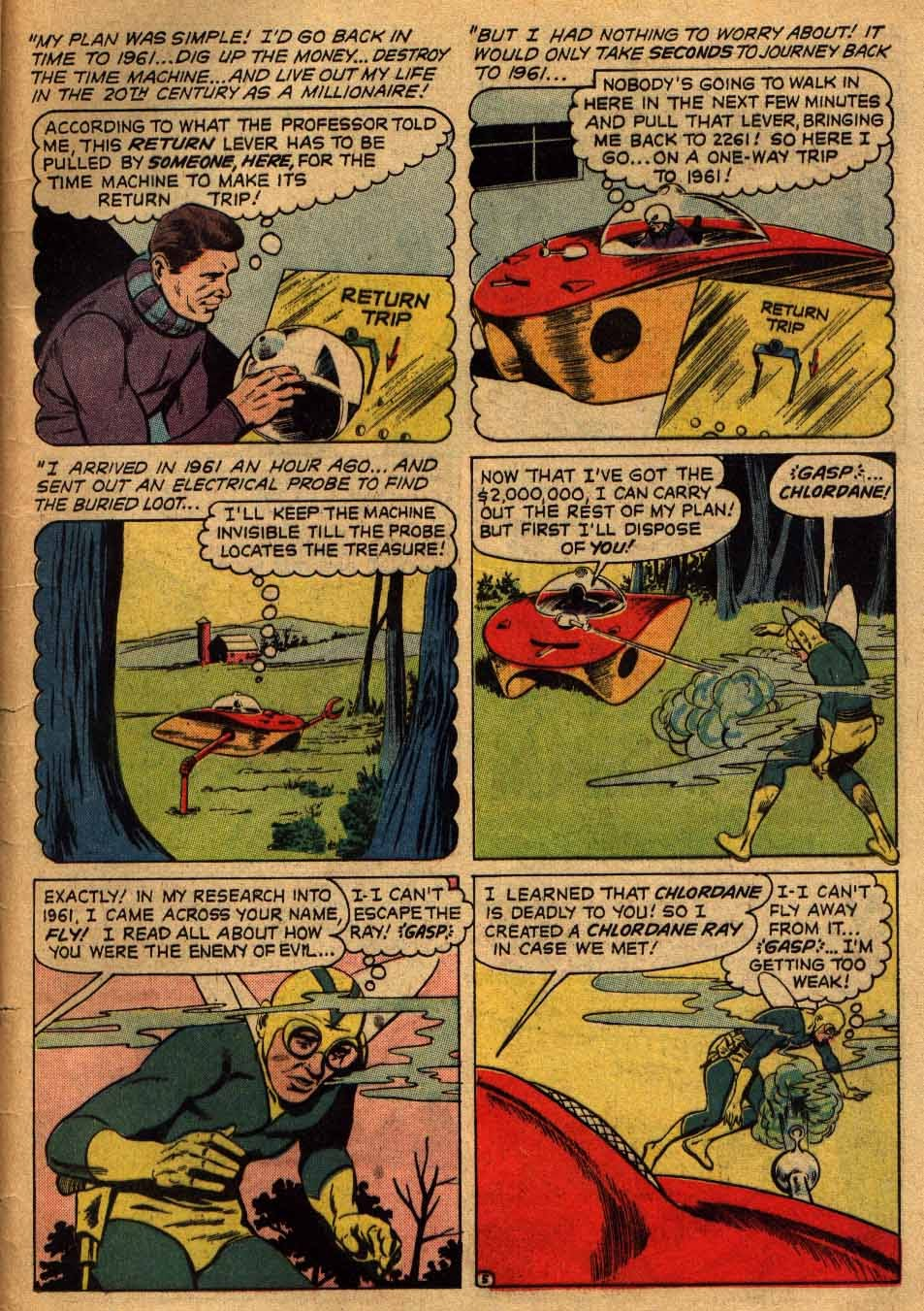 Adventures of the Fly issue 13 - Page 34