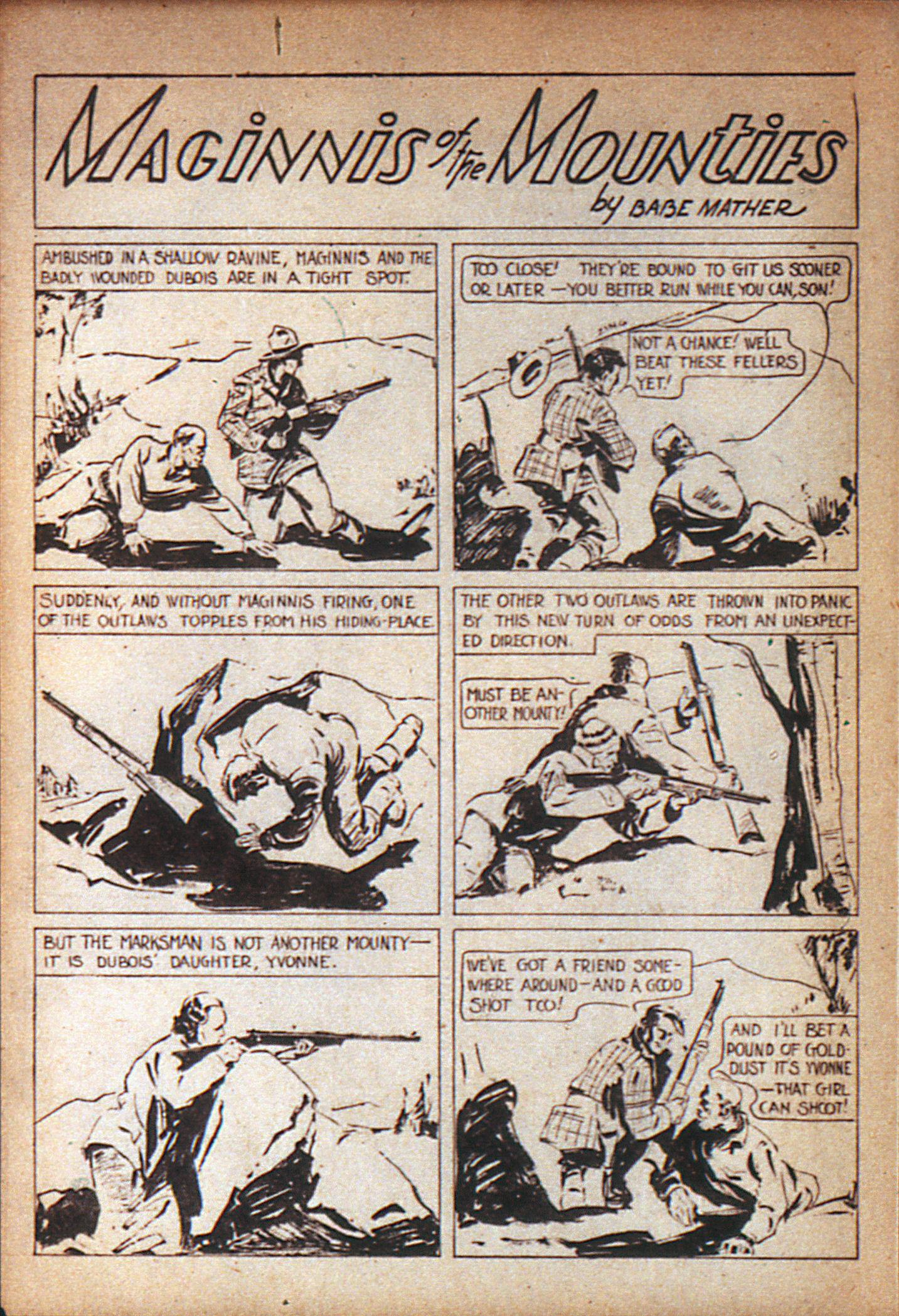 Read online Adventure Comics (1938) comic -  Issue #7 - 25