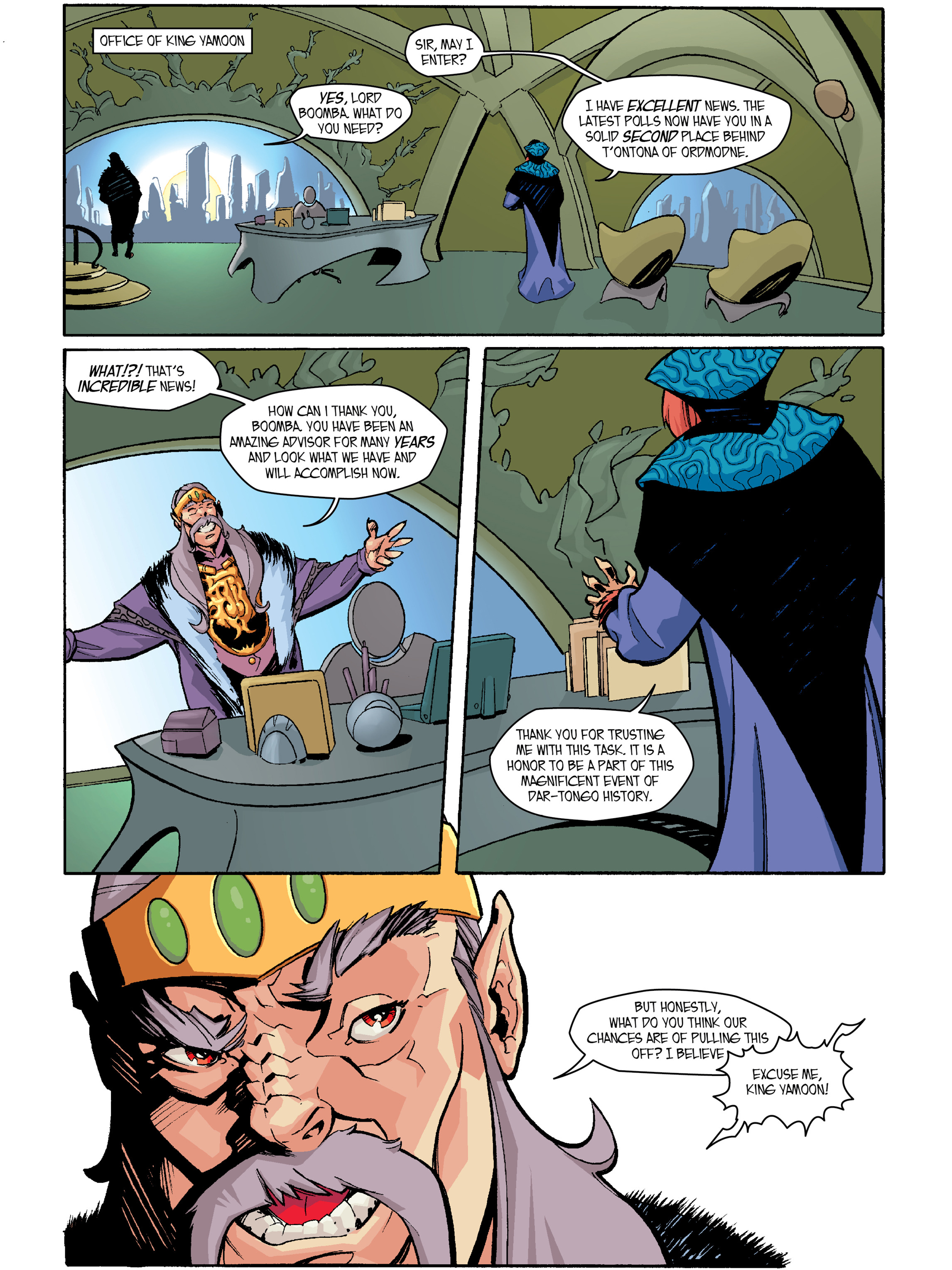 Read online Amber Atoms comic -  Issue #2 - 6