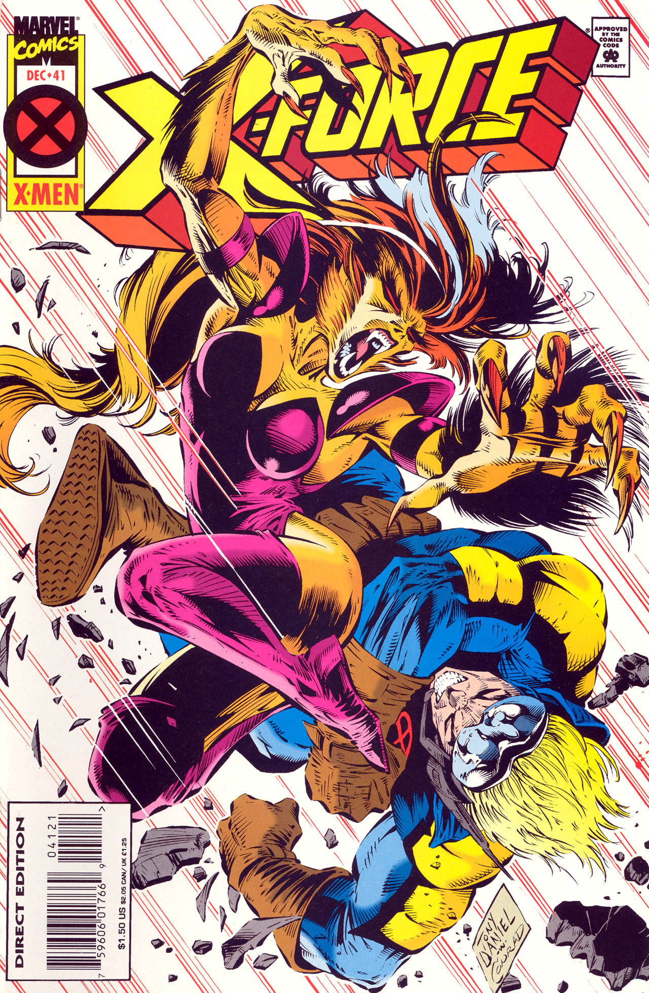 Read online X-Force (1991) comic -  Issue #41 - 1