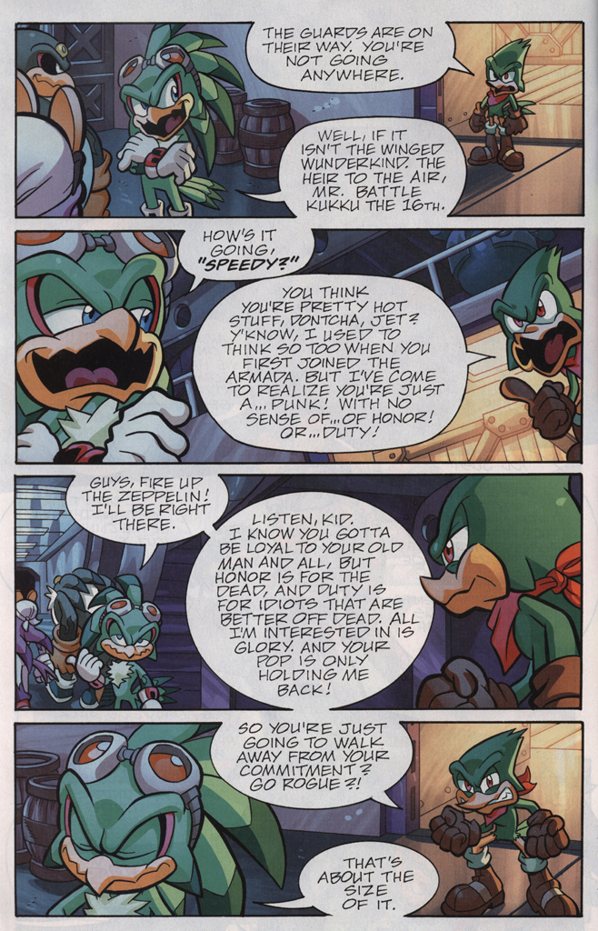 Read online Sonic Universe comic -  Issue #33 - 24