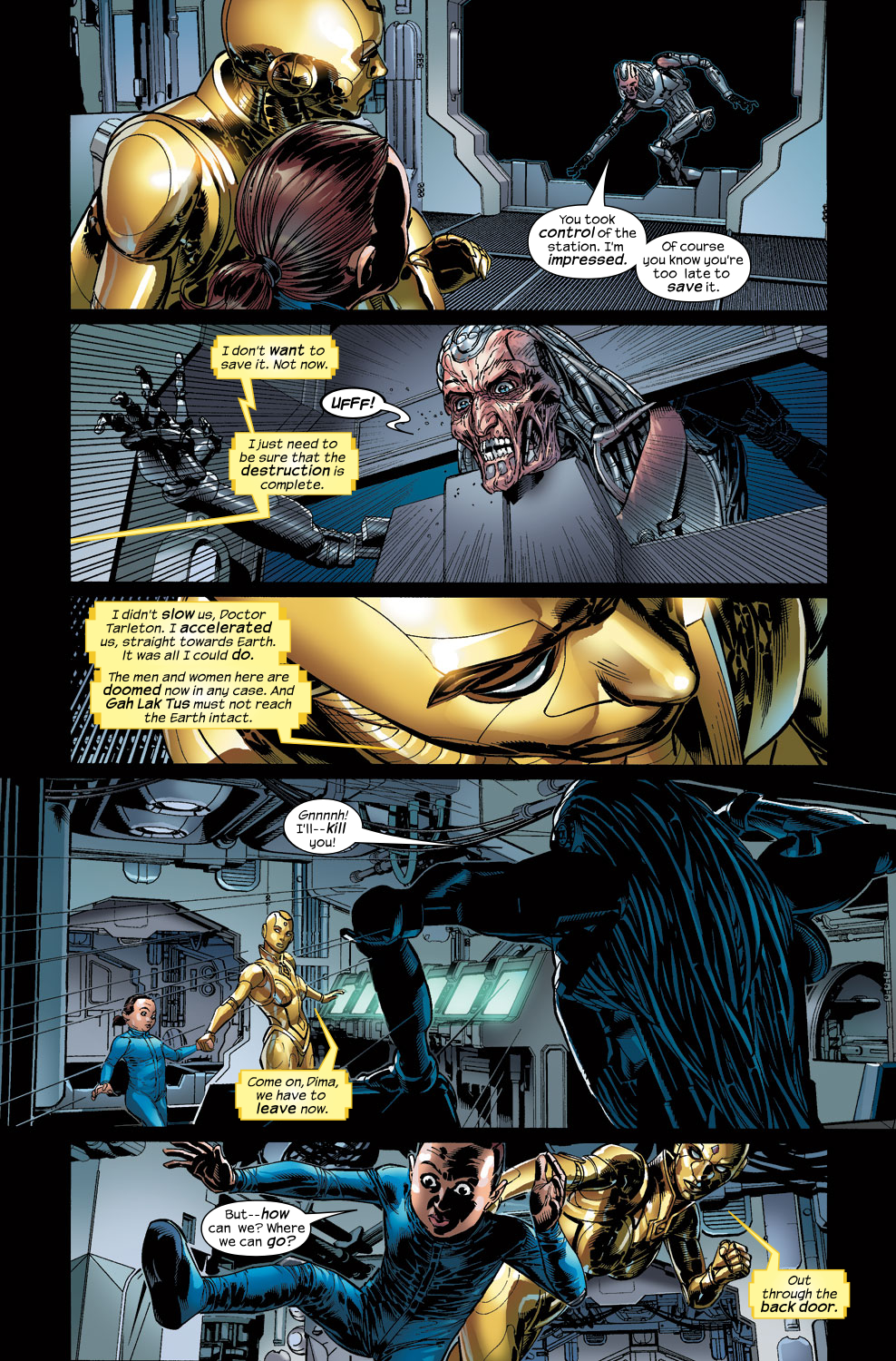Read online Ultimate Vision comic -  Issue #3 - 19